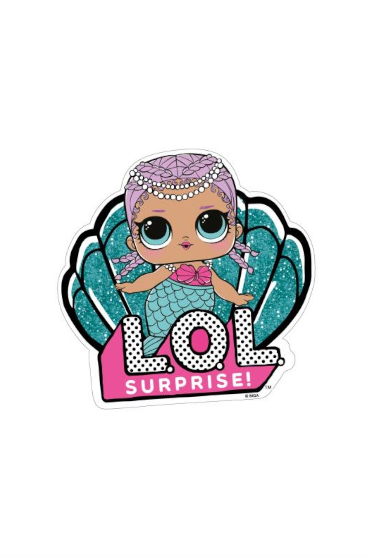 L.O.L Ręcznik plażowy dziewczęcy- muszelka
