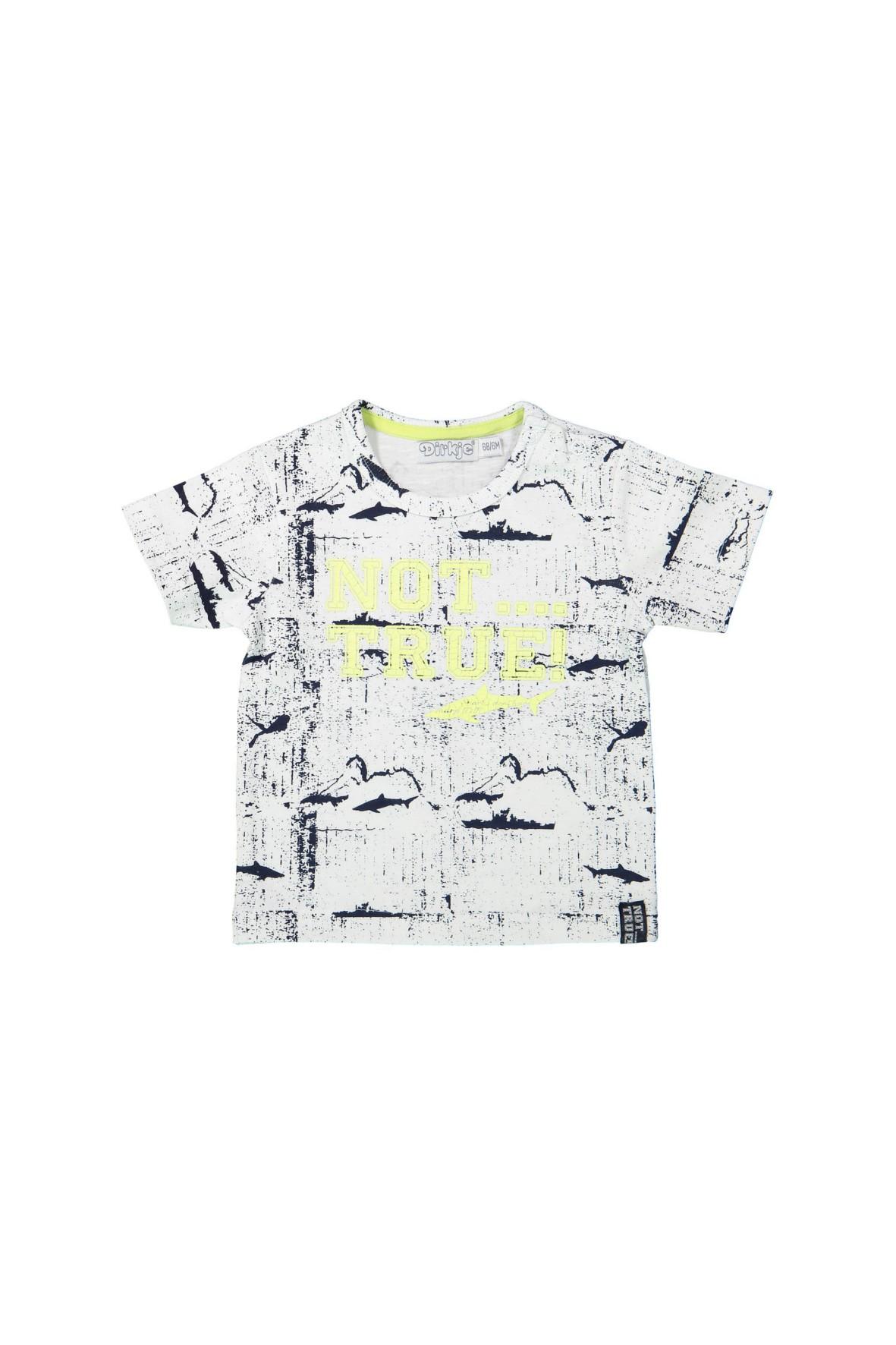 T-shirt niemowlęcy z napisem z przodu