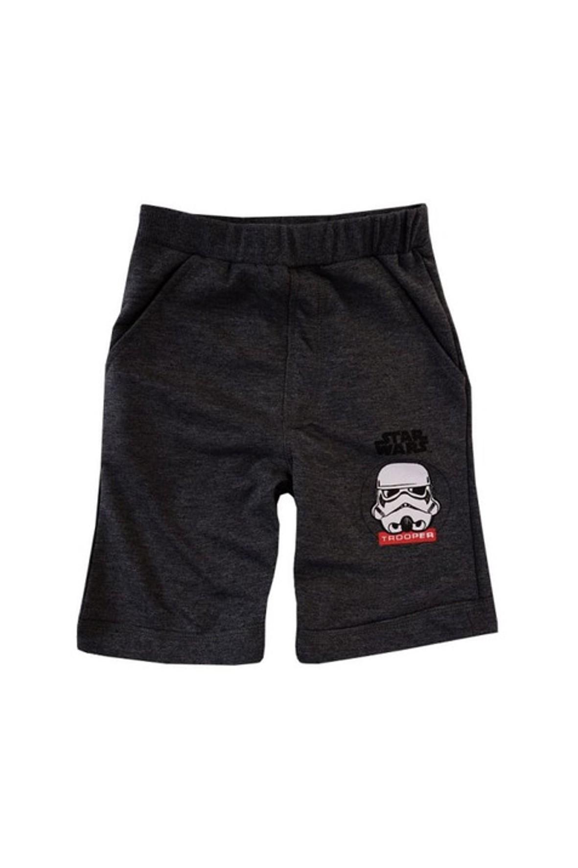 Szorty chłopięce Star Wars szare