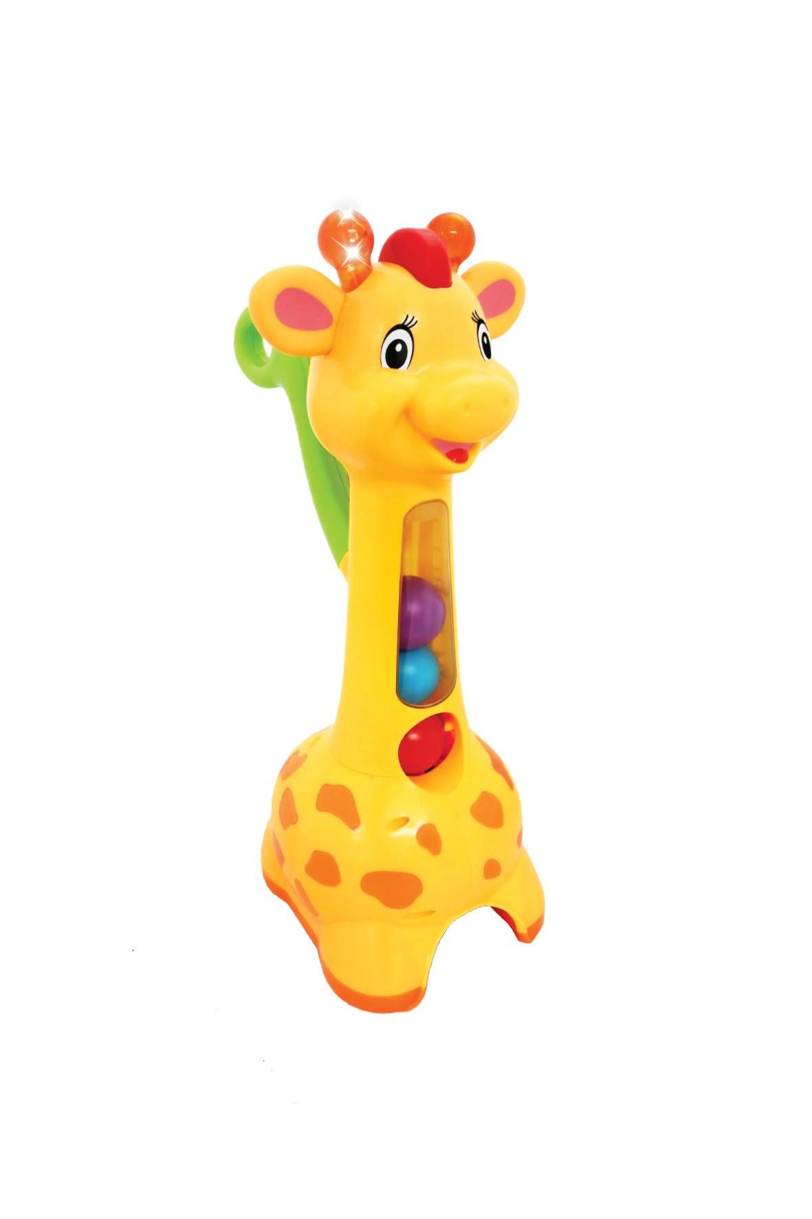 Żyrafa piłeczkowy pościg