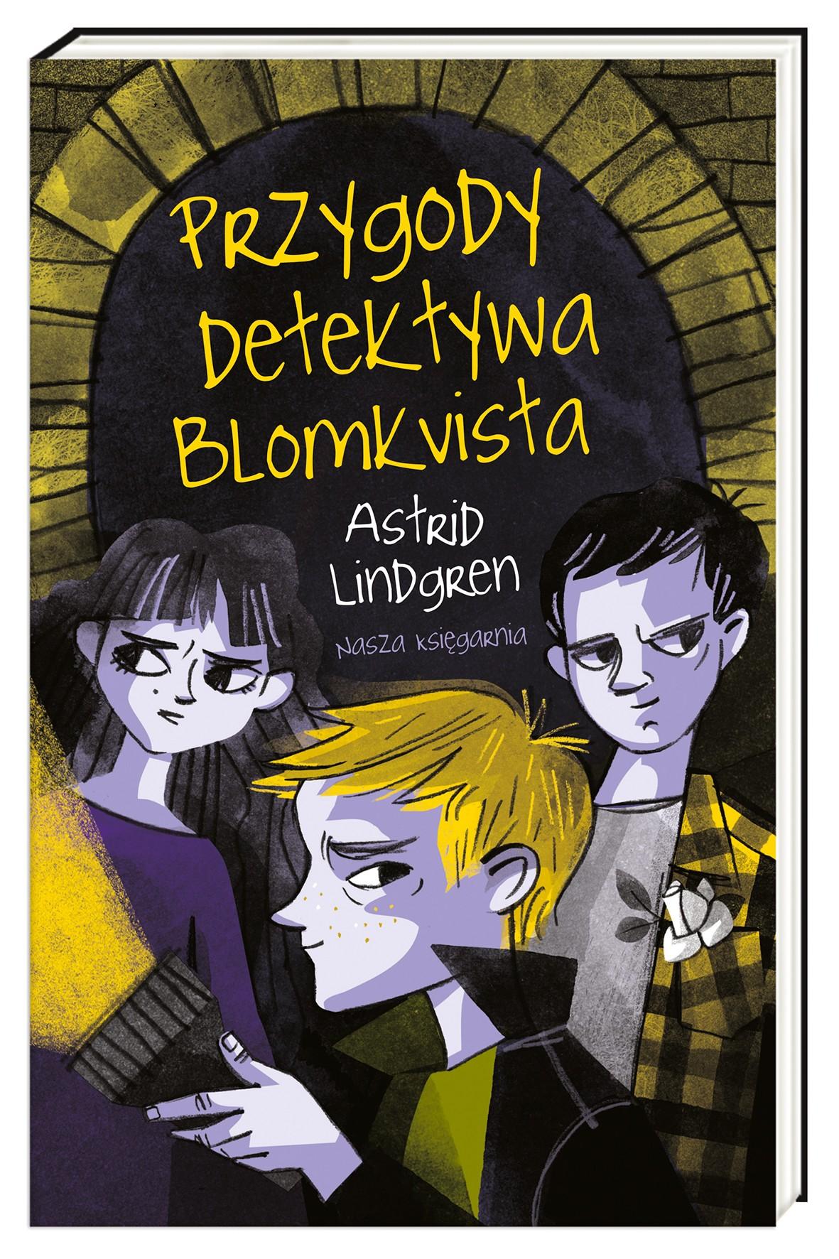 Przygody detektywa Blomkvista- książka dla dzieci