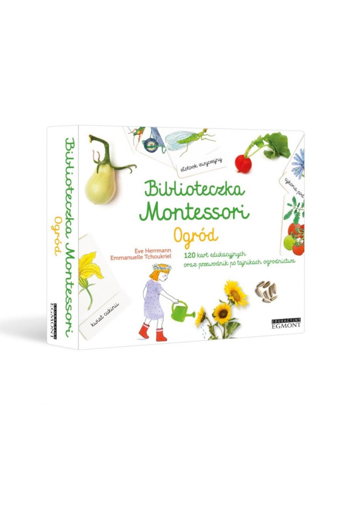 Biblioteczka Montessori. Ogród
