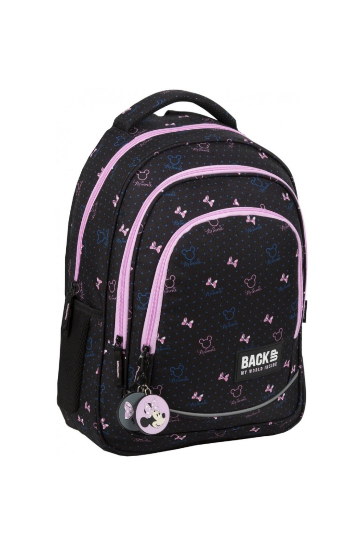 Plecak dziewczęcy Minnie Czarny