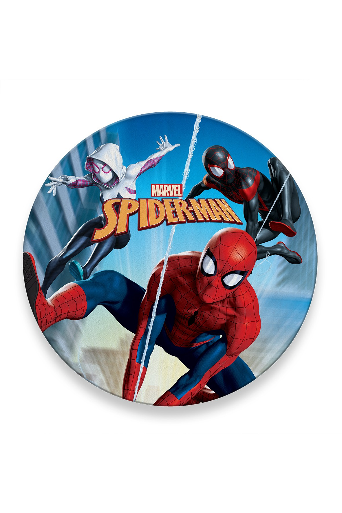 Spiderman ręcznik okrągły 120 cm