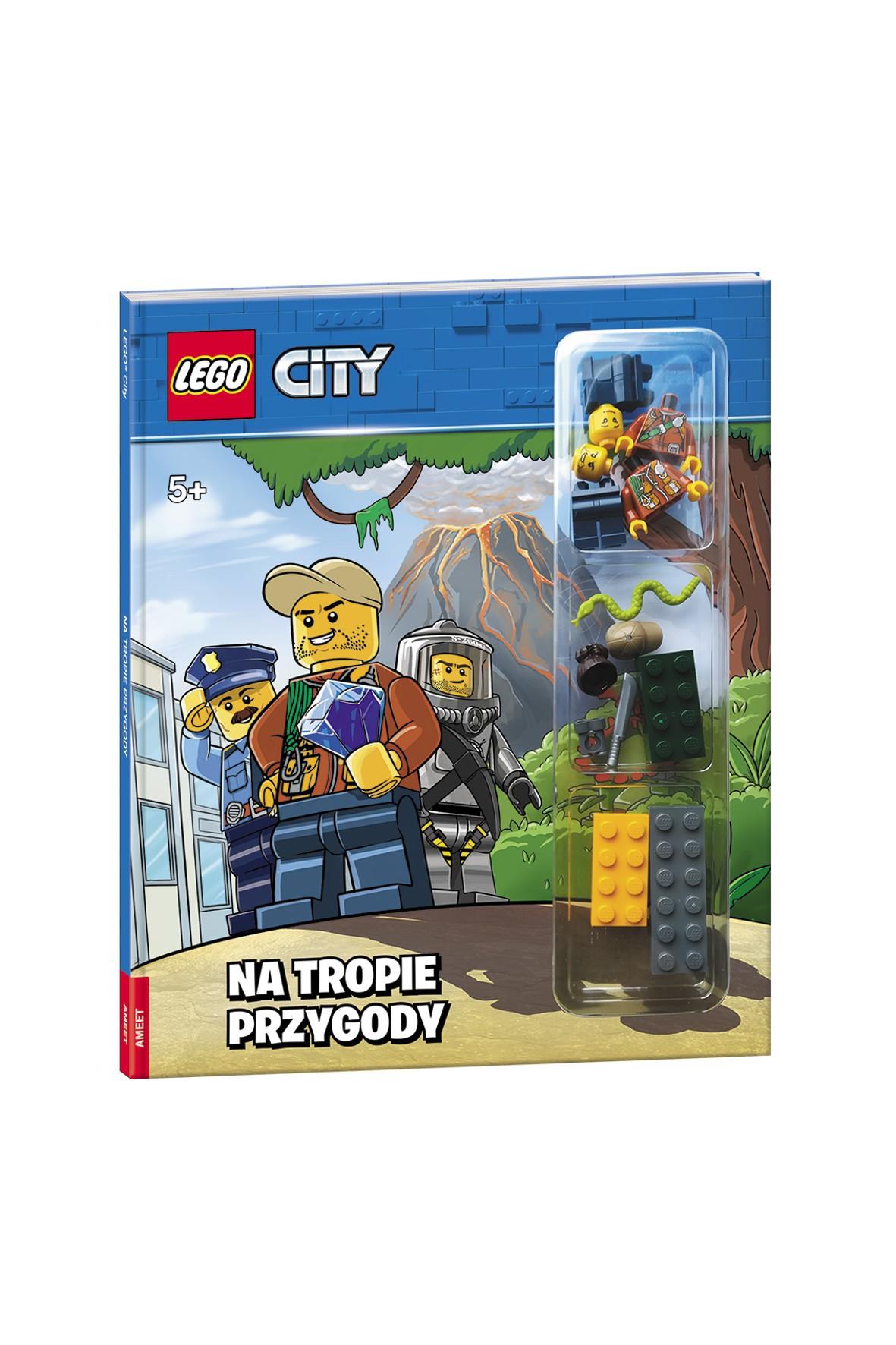 Książeczka Lego City. Na tropie przygody
