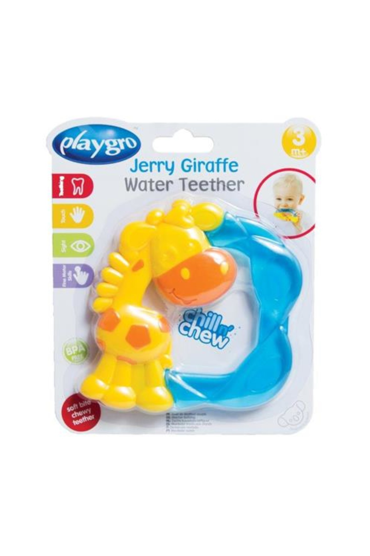 Gryzak Żyrafka Playgro 3msc+