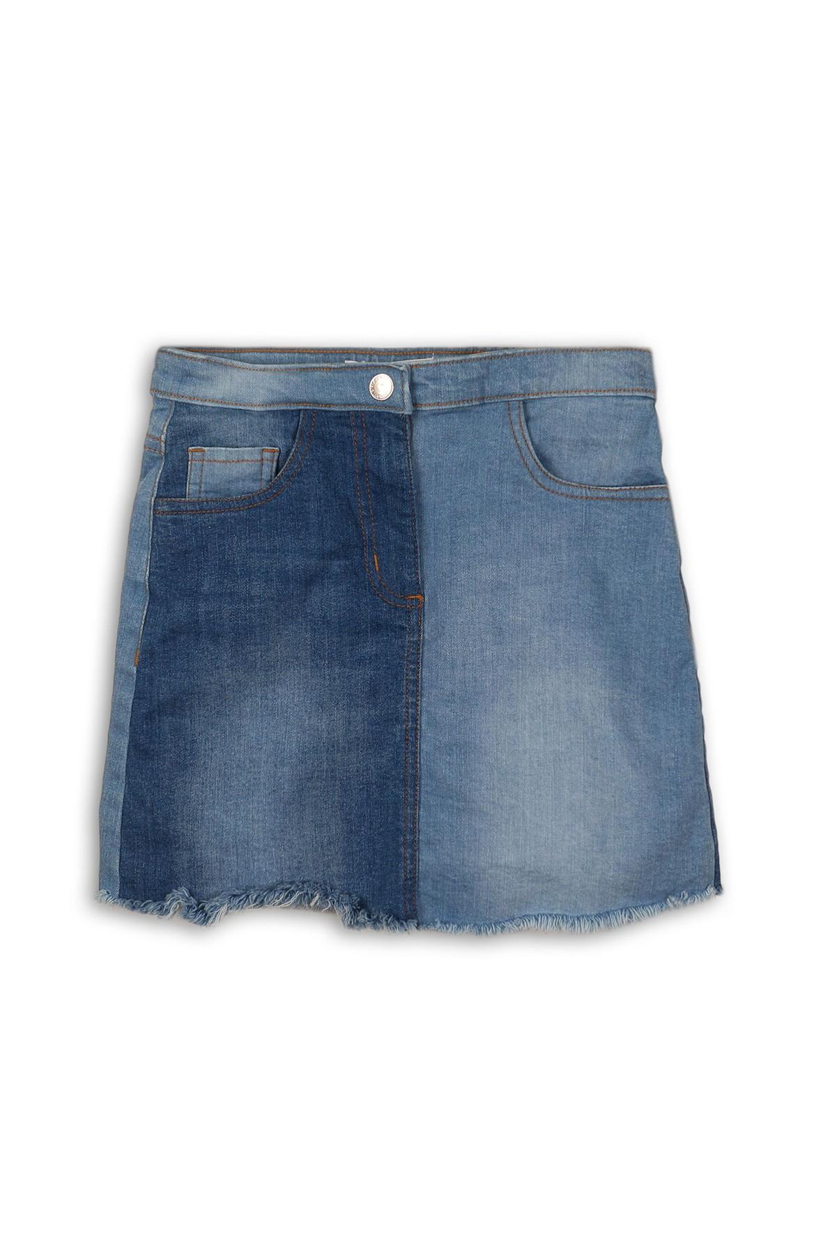 Spódnica jeansowa dla dziewczynki niebieska