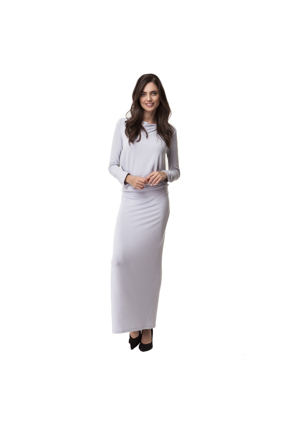 Sukienka Ciążowa Winter Maxi