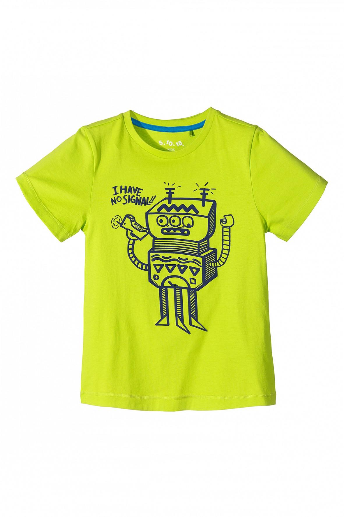 T-shirt chłopięcy 100% bawełna 1I3408