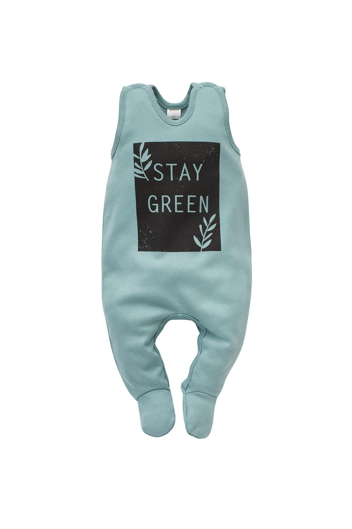 Śpiochy niemowlęce bawełniane- niebieskie