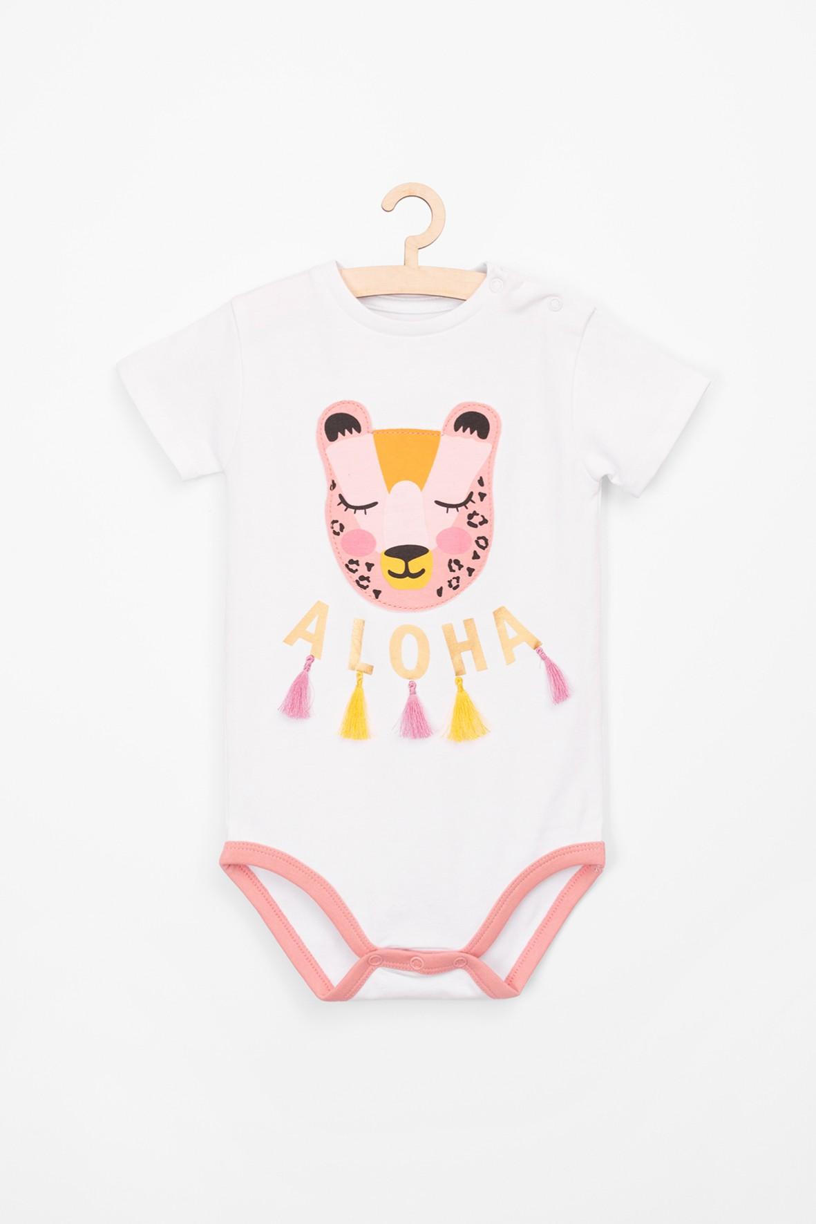 Body niemowlęce z krótkim rękawem- Safari