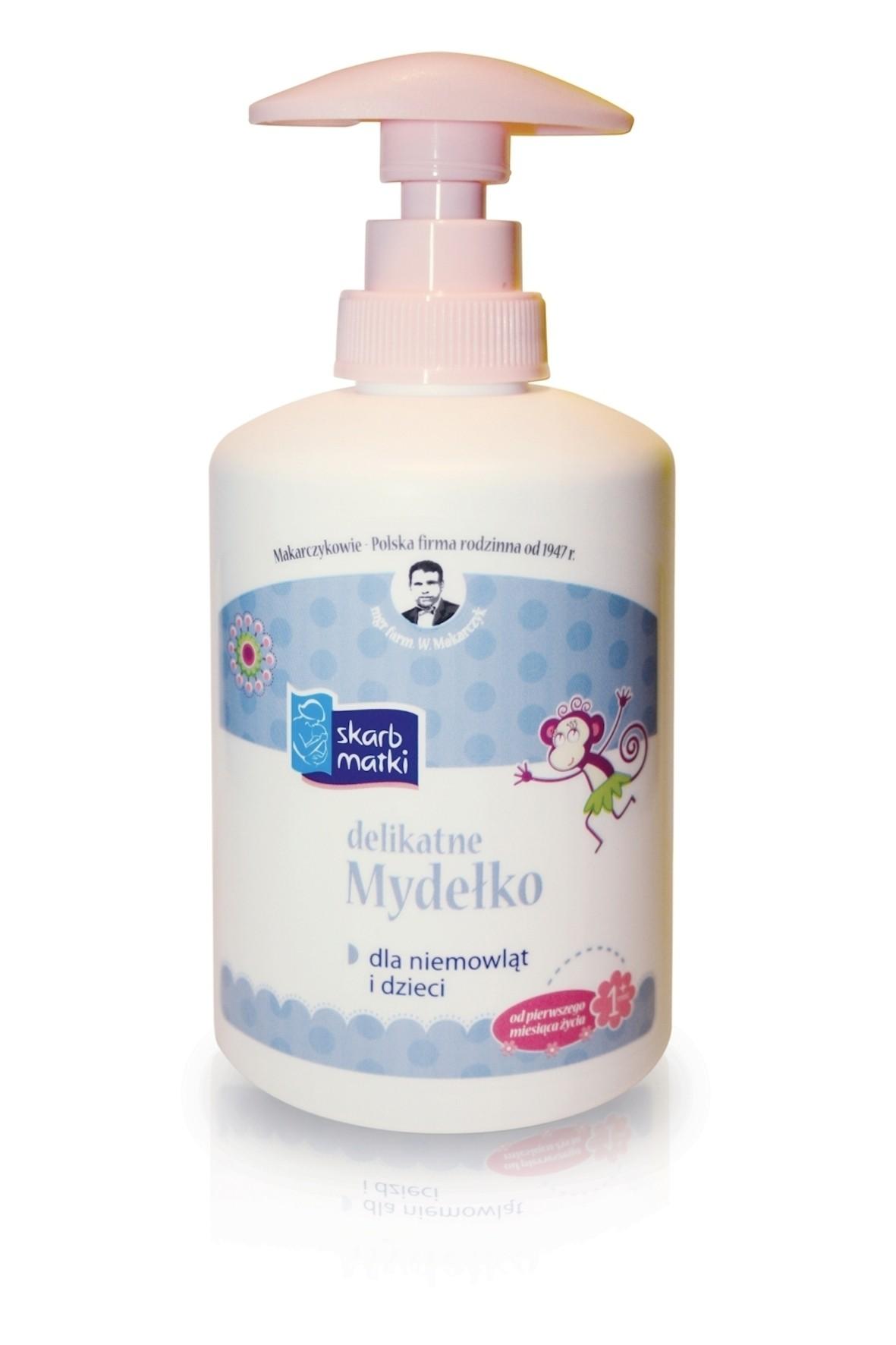 Mydełko dla dzieci i niemowląt Skarb matki 275ml wiek 1msc+