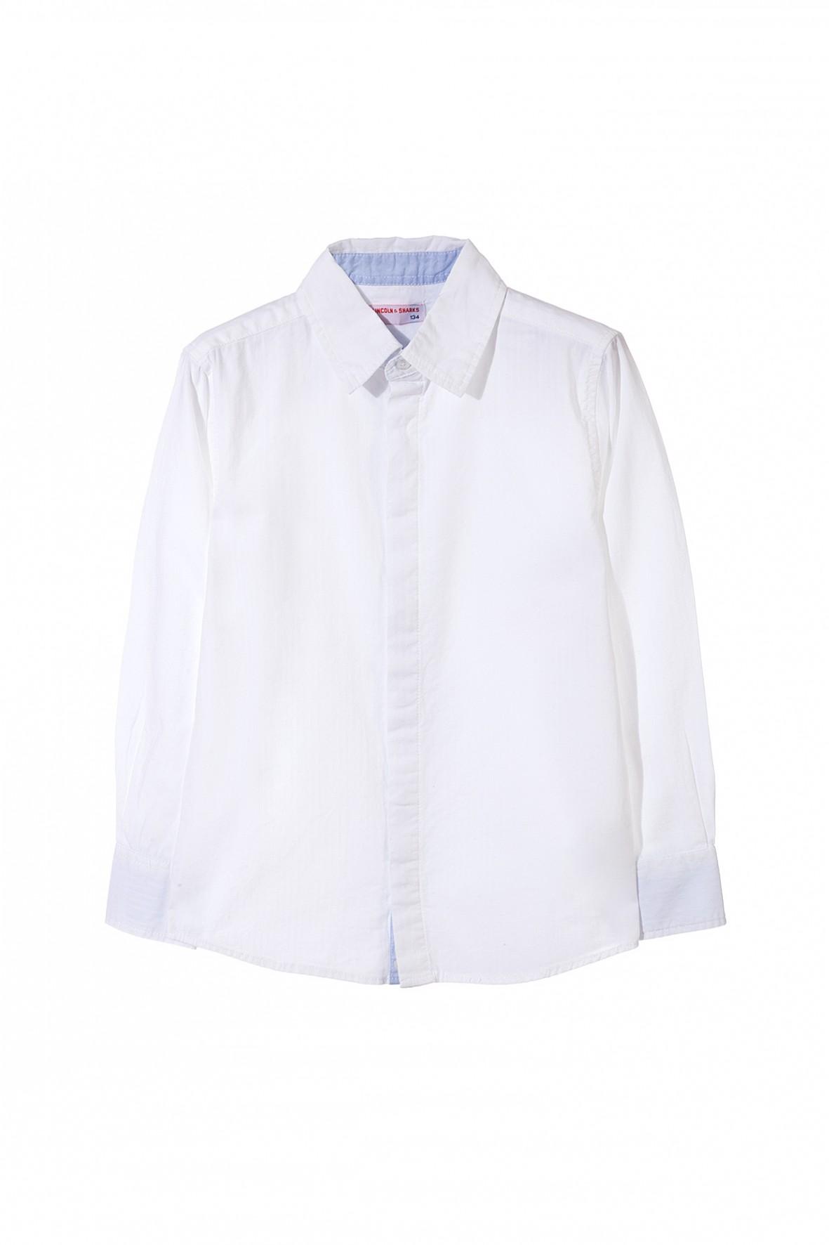 Koszula chłopięca biała 2J3308