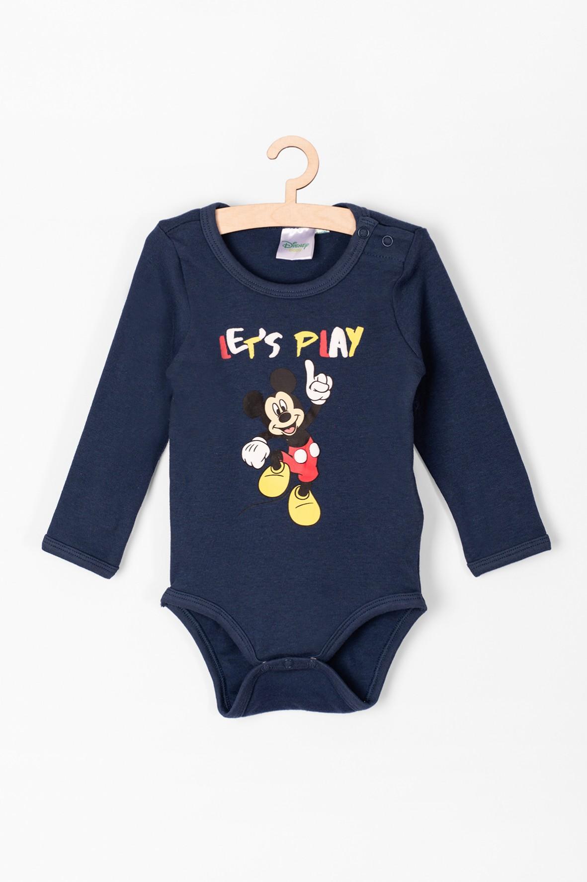 Body niemowlęce z długim rękawem Myszka Mickey