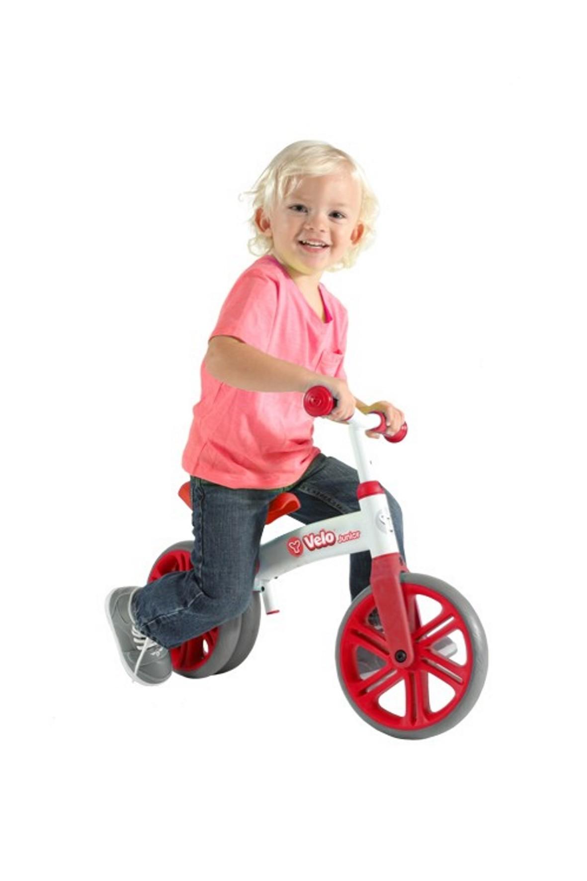 Rowerek biegowy Velo Junior Yvolution czerwony