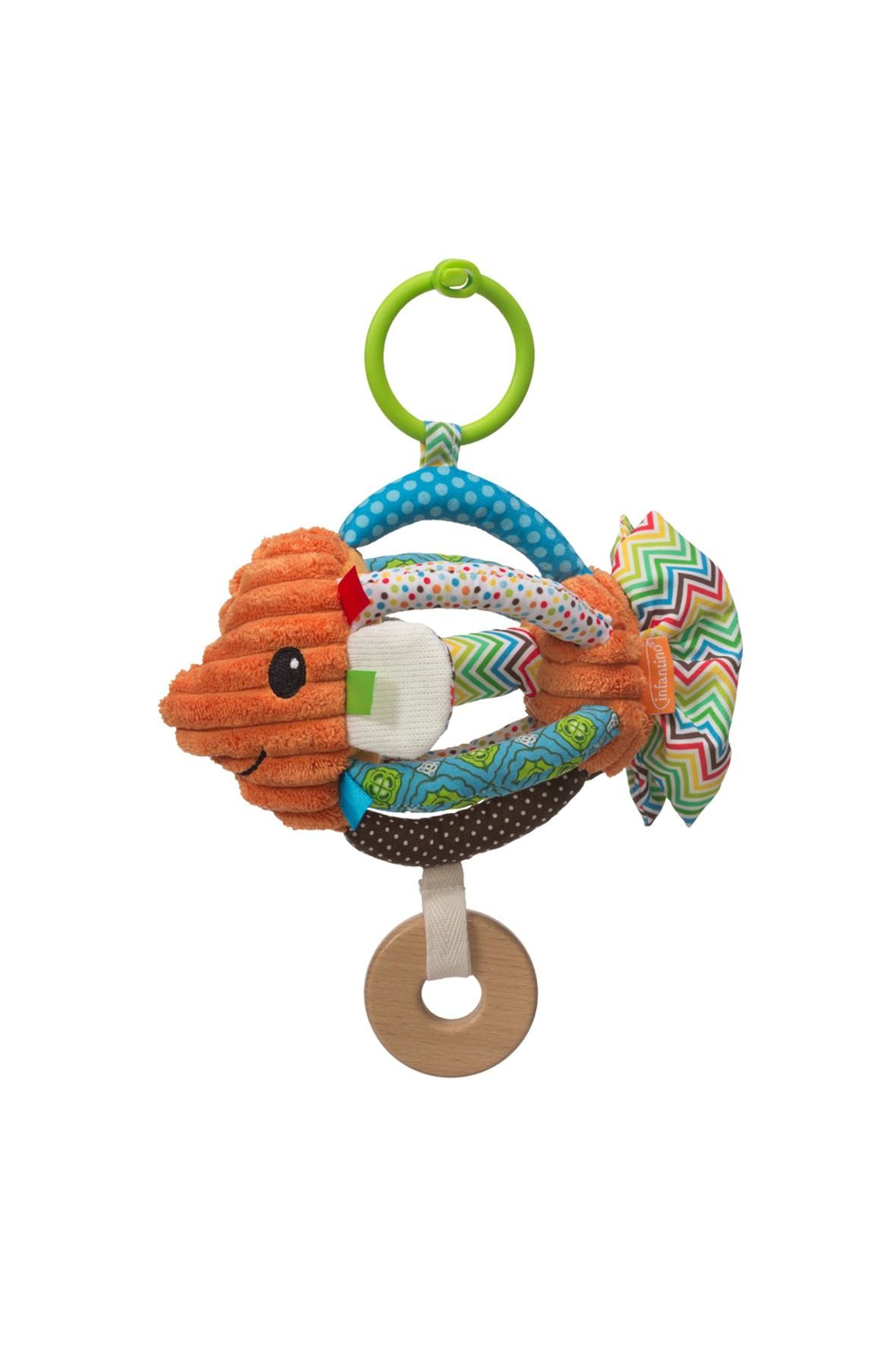 Zawieszka rybka- zabawka dla niemowlaka