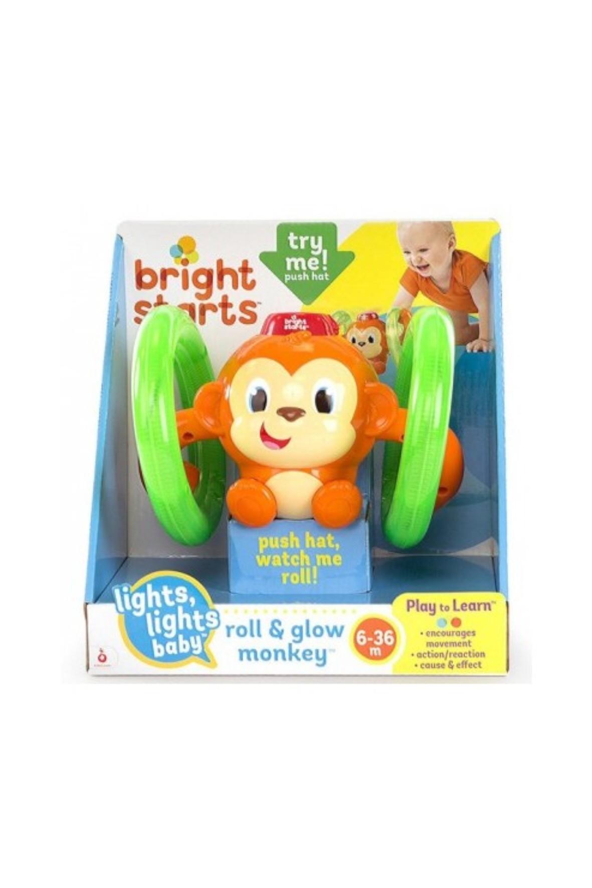 Bright Starts - Fikająca Małpka 6msc+