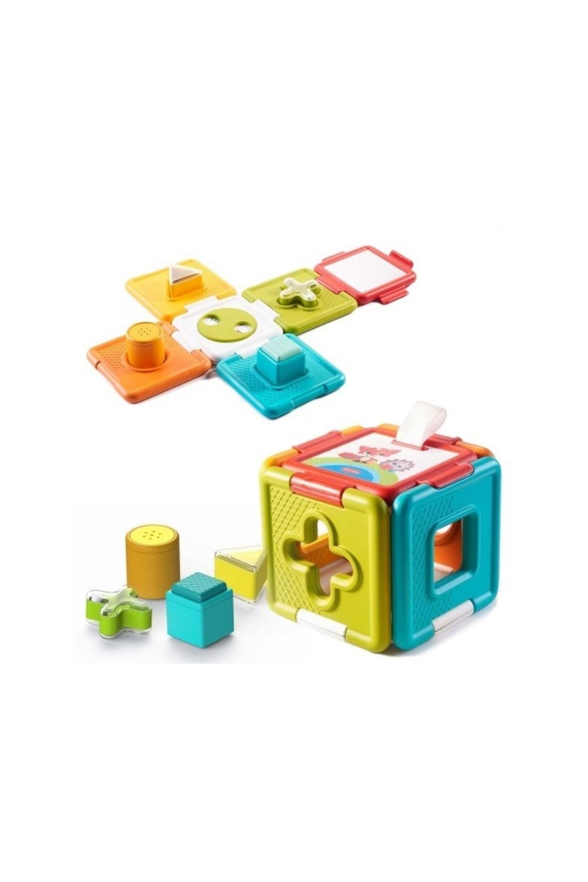 Zabawka edukacyjna 2w1 Sorter i Układanka