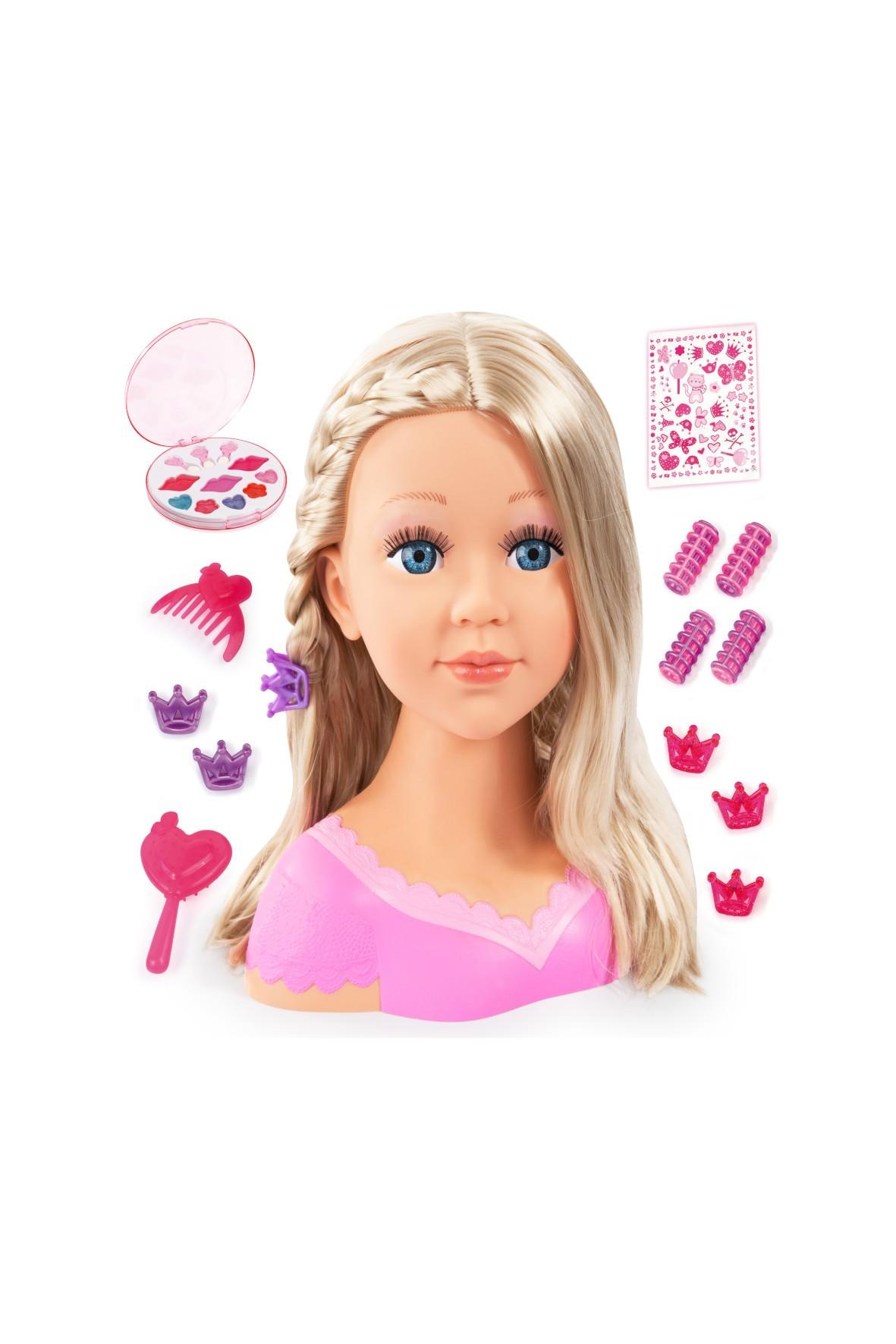 Lalka model do stylizacji z kosmetykami