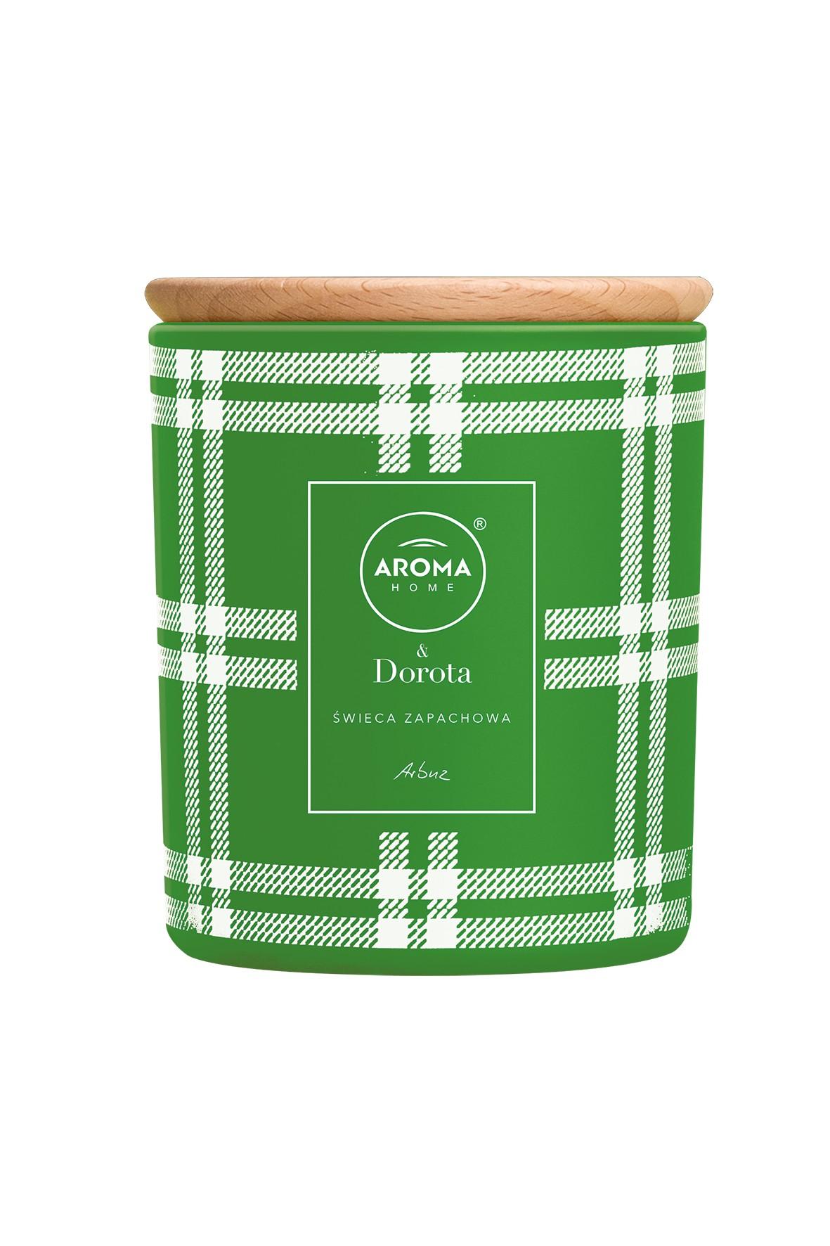 Aroma Home & Dorota Świeca Arbuz 260ml/ 150g