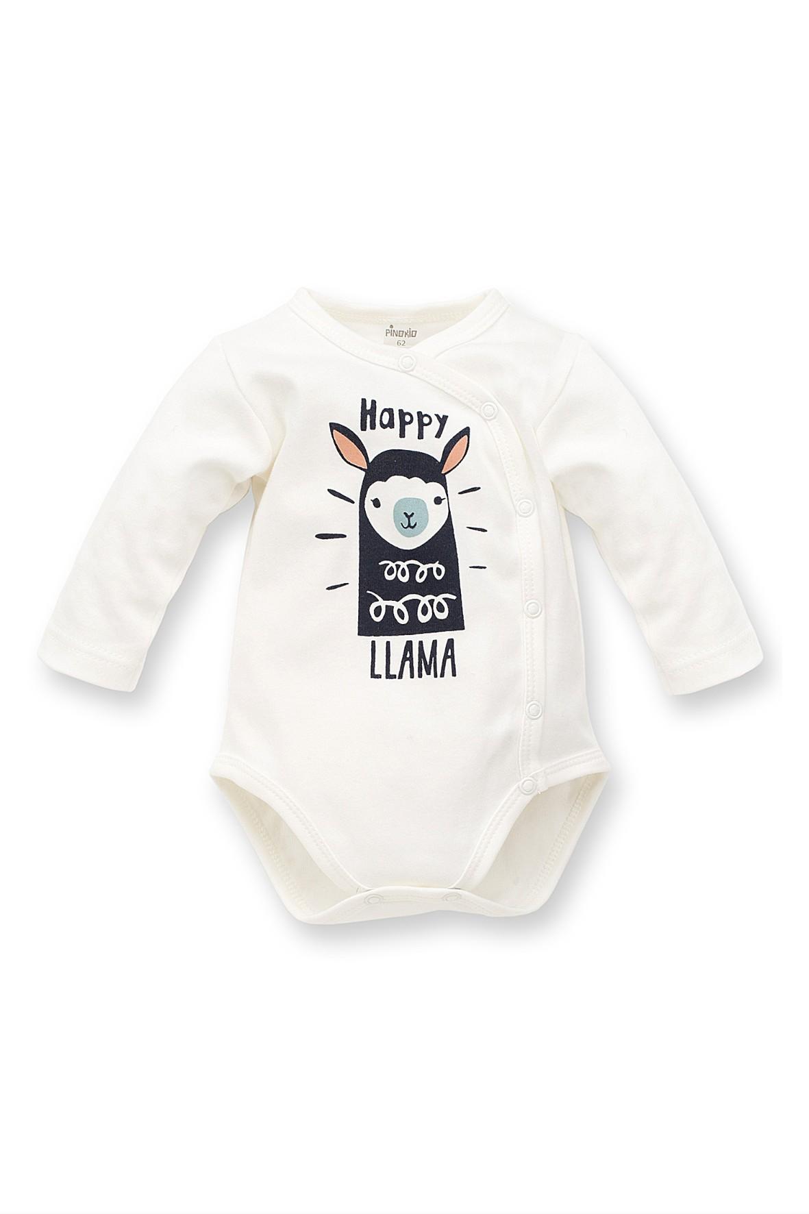 Body niemowlęce bawełniane-Happy Lama