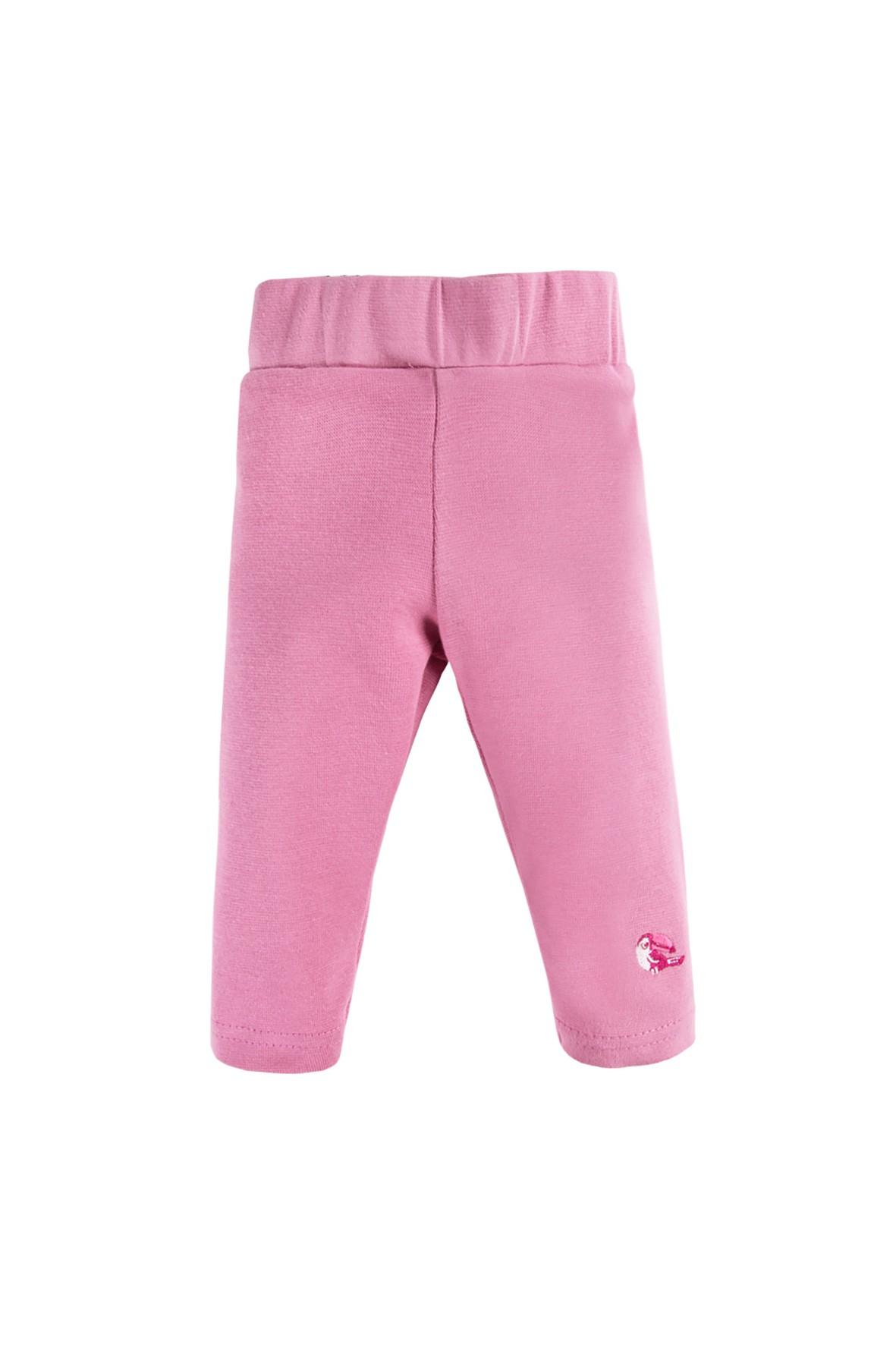 Leginsy niemowlęce NATURE różowe