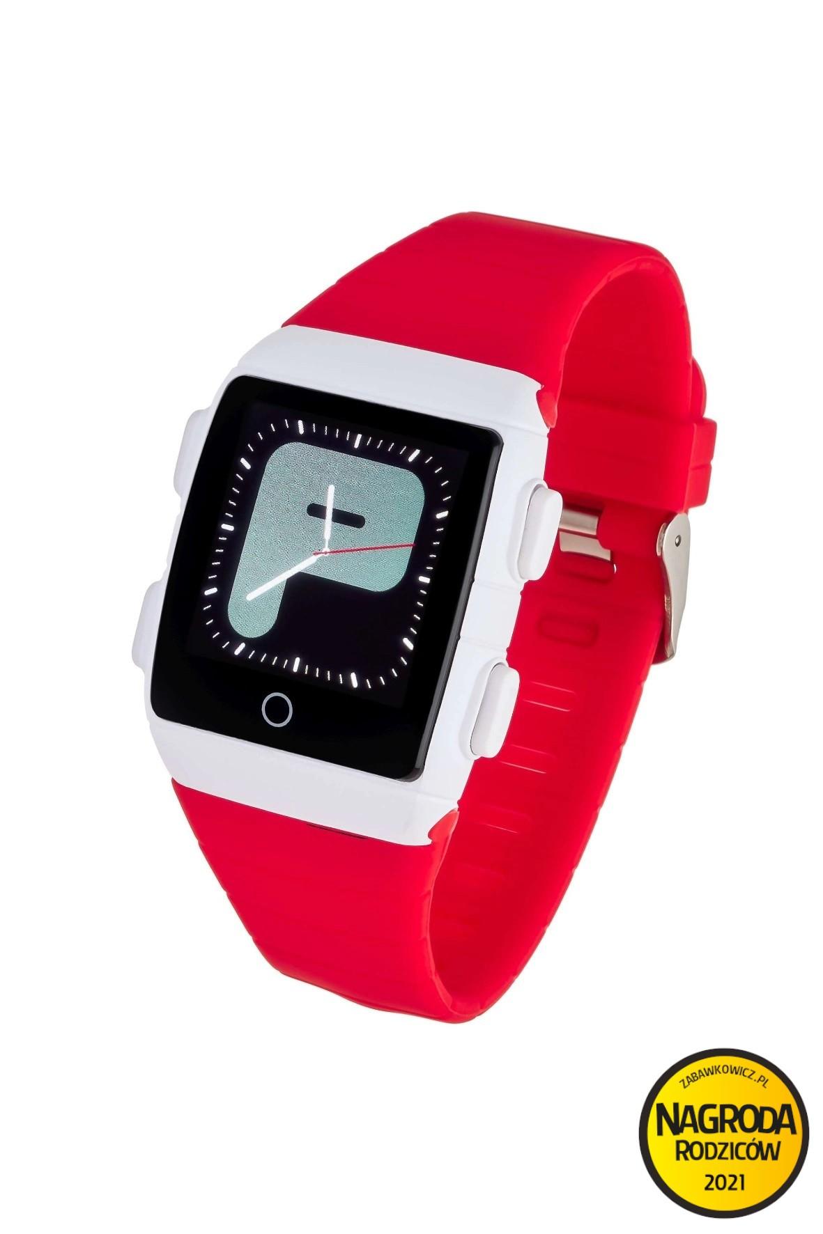 Smartwatch Garett Teen 5 - czerwony