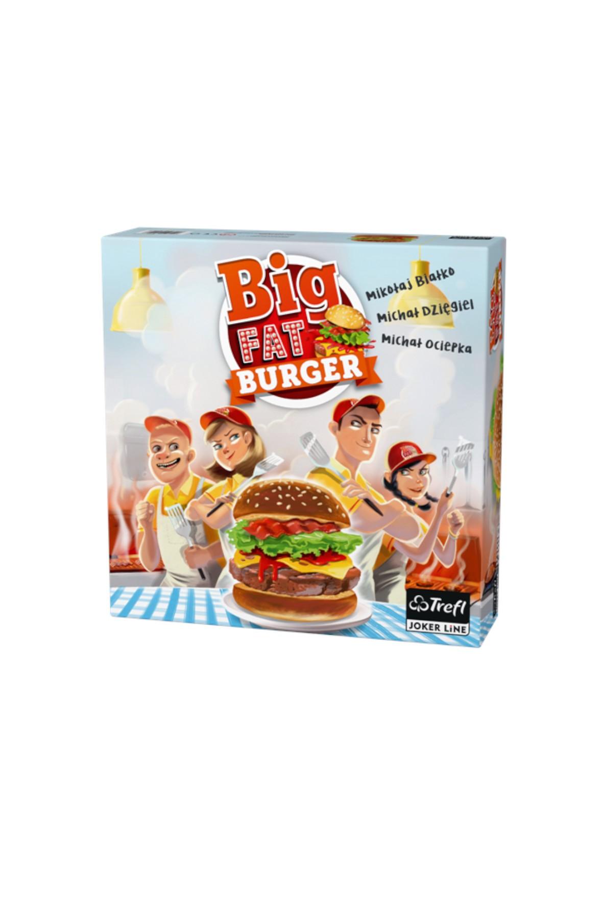 Gra Big Fat Burger Trefl