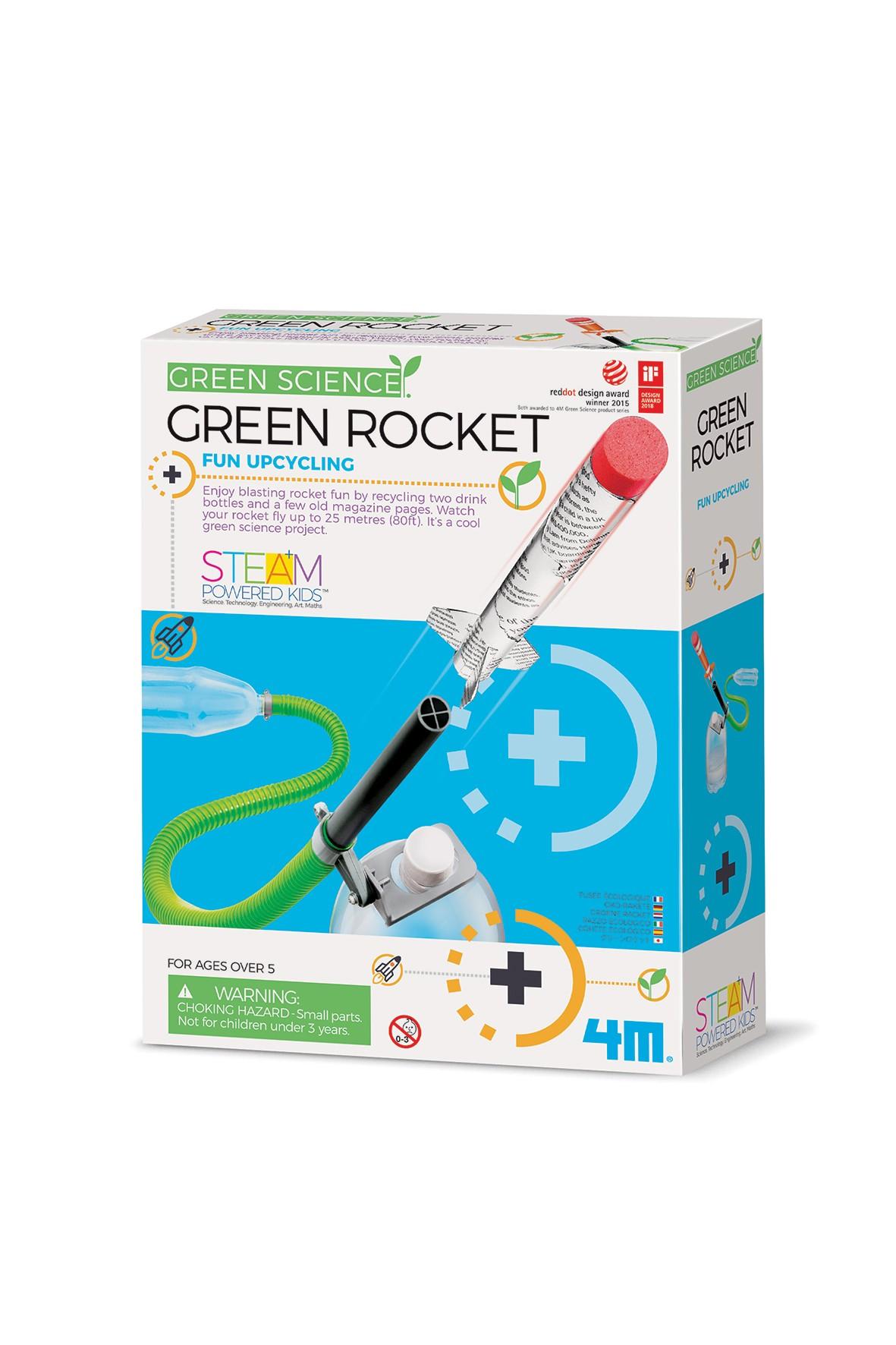 GREEN SCIENCE-Eko rakieta wiek 8+