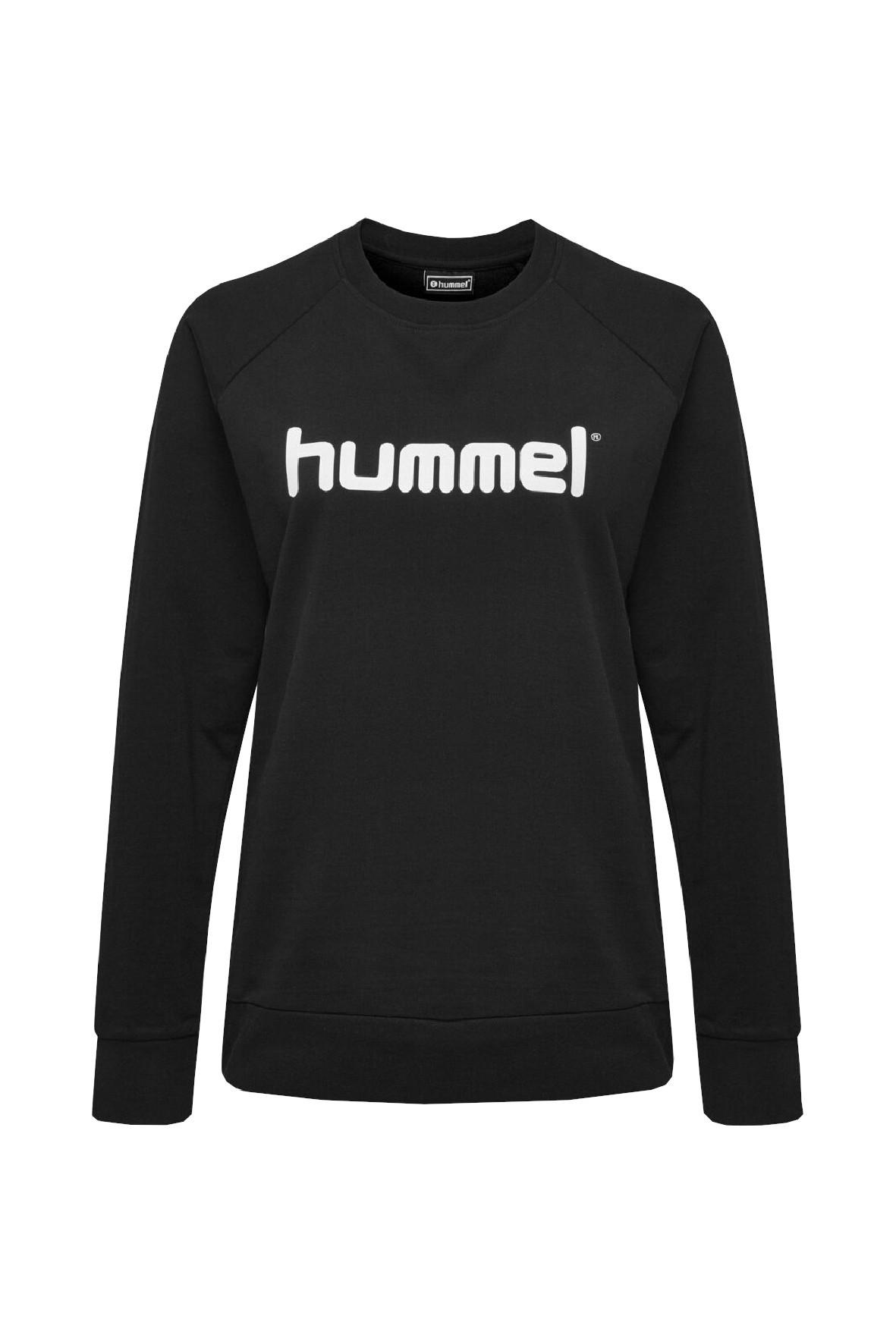 Bluza dresowa damska czarna Hummel