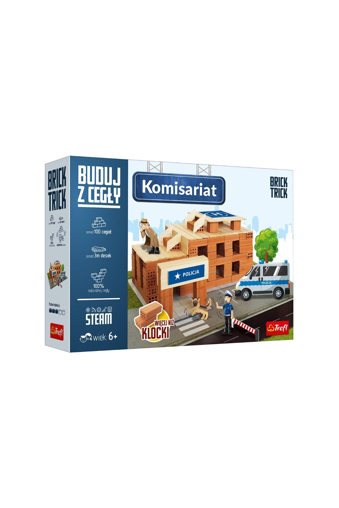 Zestaw do budowania Brick Trick - Komisariat