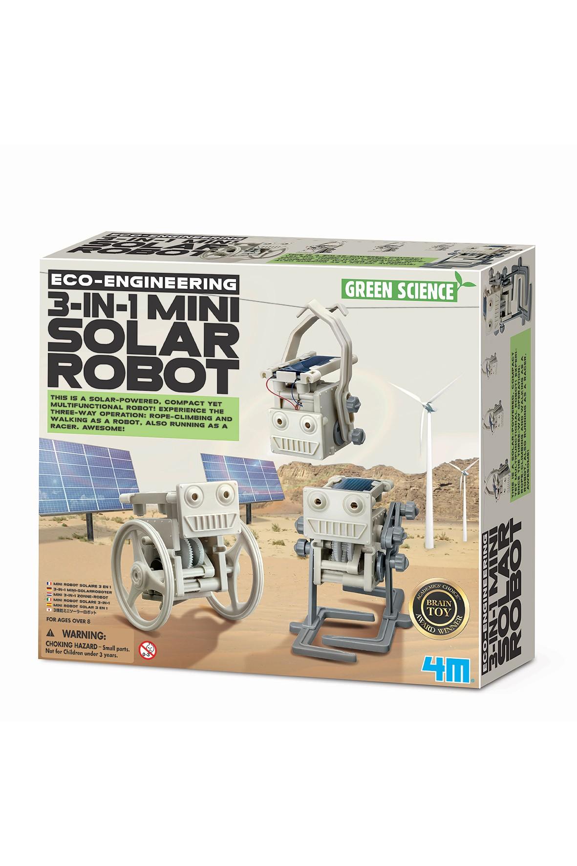 Zbuduj- MINI SOLARNY ROBOT wiek 5+