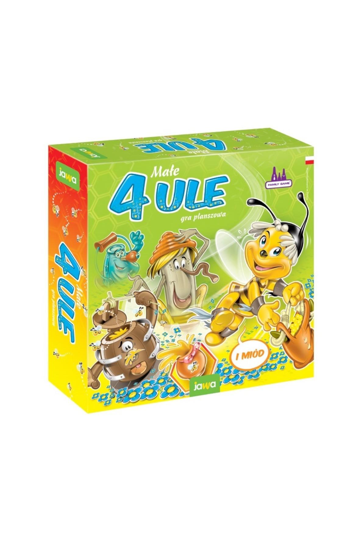 Gra planszowa - 4 małe ule wiek 4+