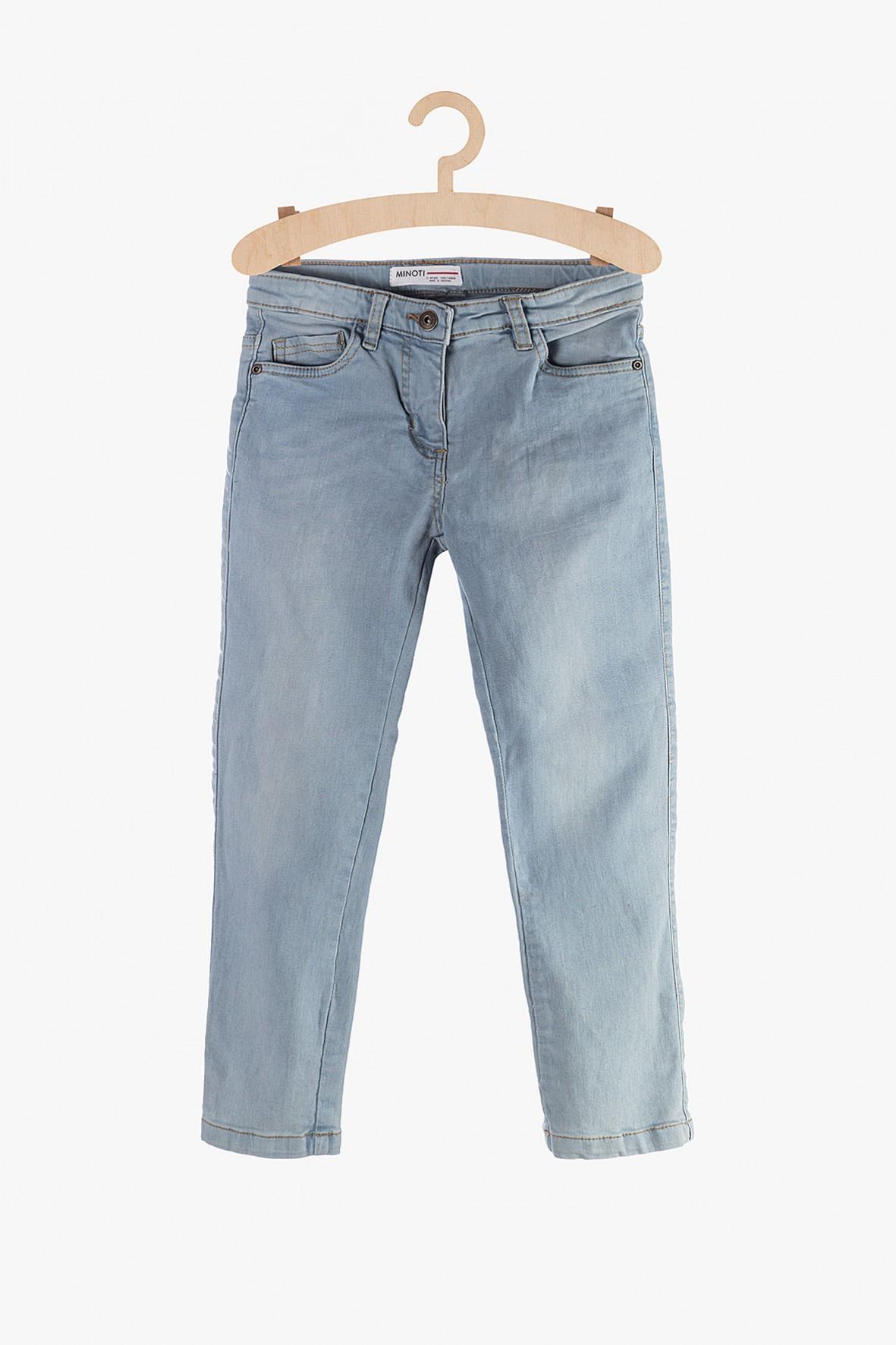 Spodnie jeansy dla dziewczynki- niebieskie