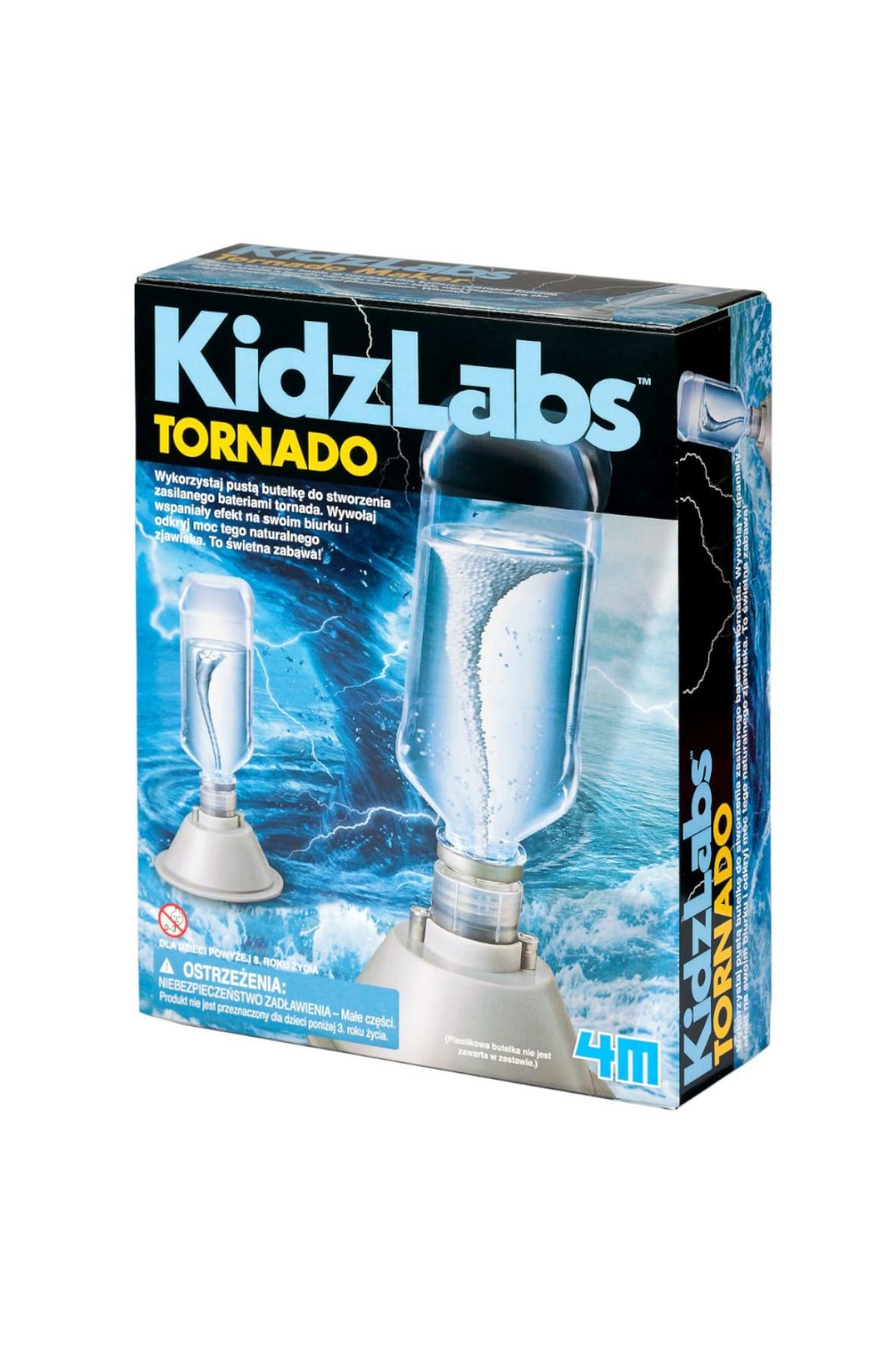 Zrób to sam - 4M Tornado wiek 8+