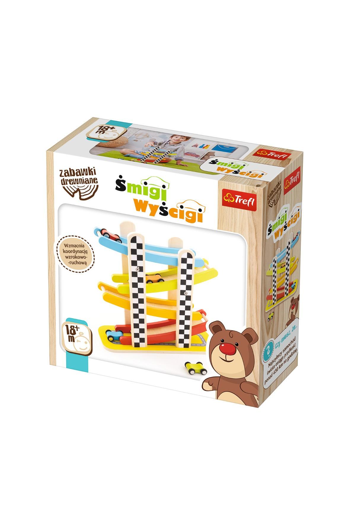 Zabawka drewniana - Śmigi Wyścigi