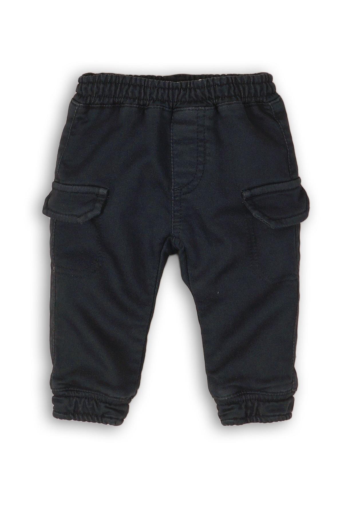 Spodnie chłopięce bojówki- czarne