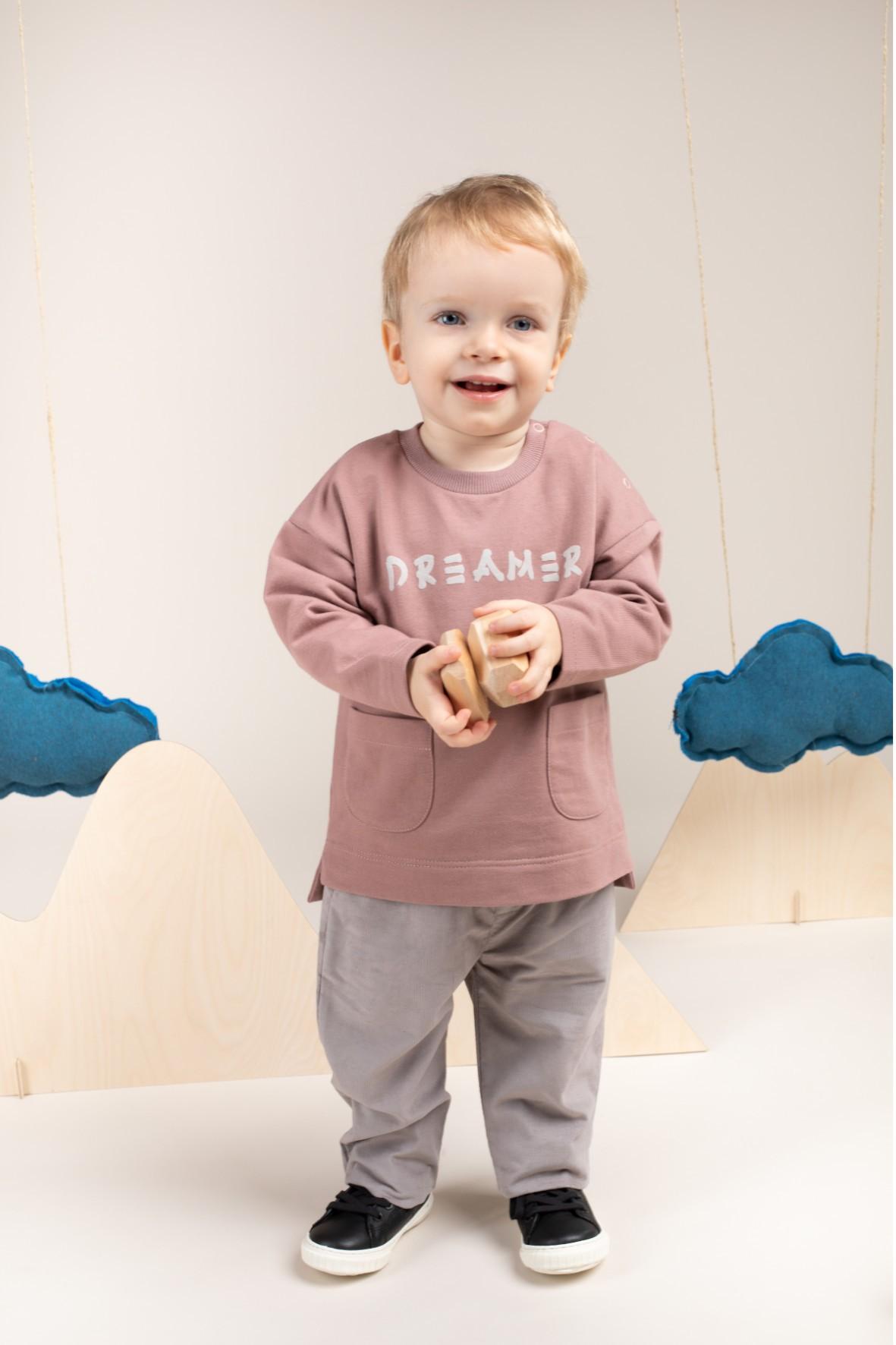Bluza niemowlęca Dreamer beżowa