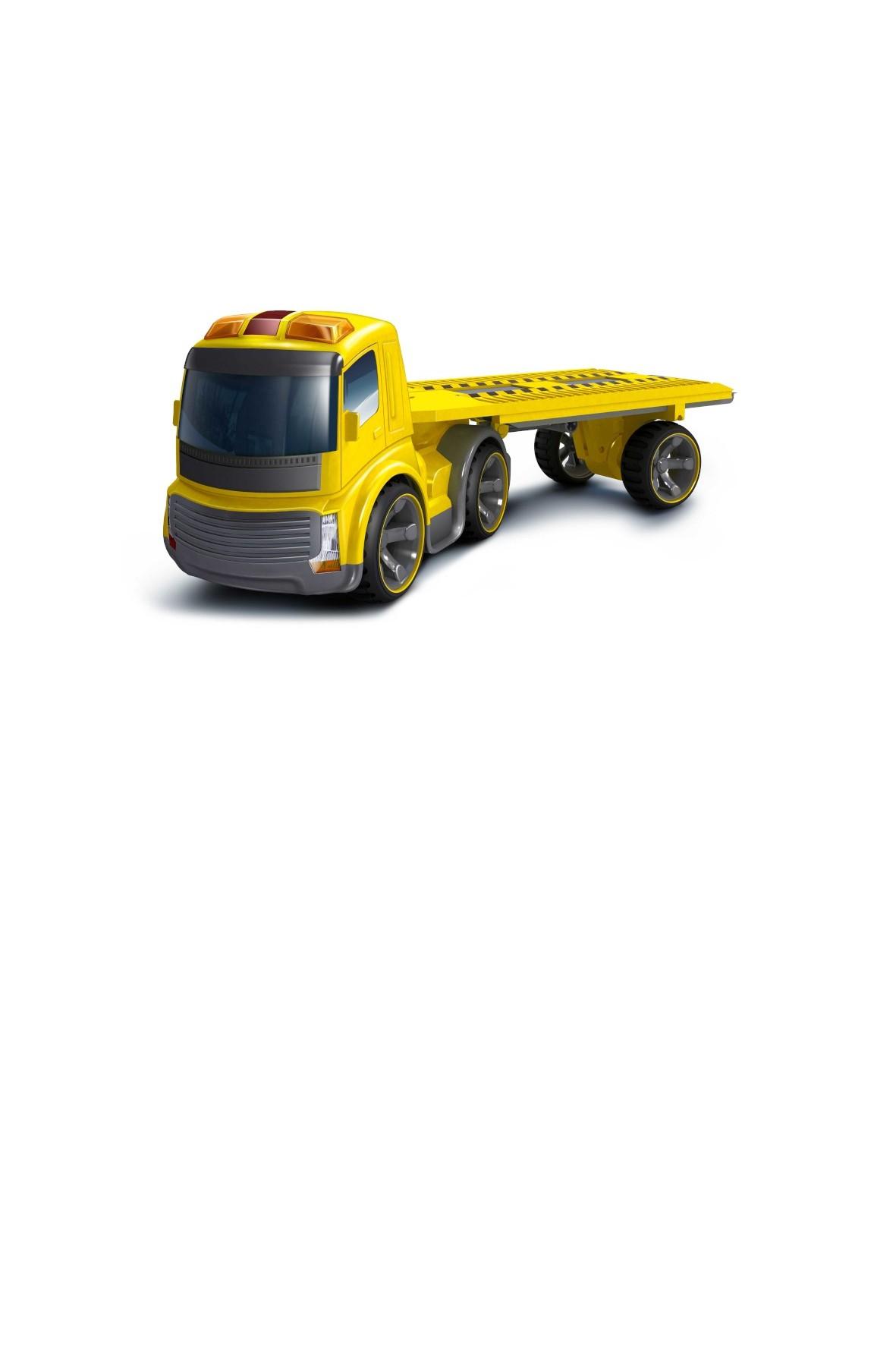 Trailer truck - laweta- światło dzwięk 4+