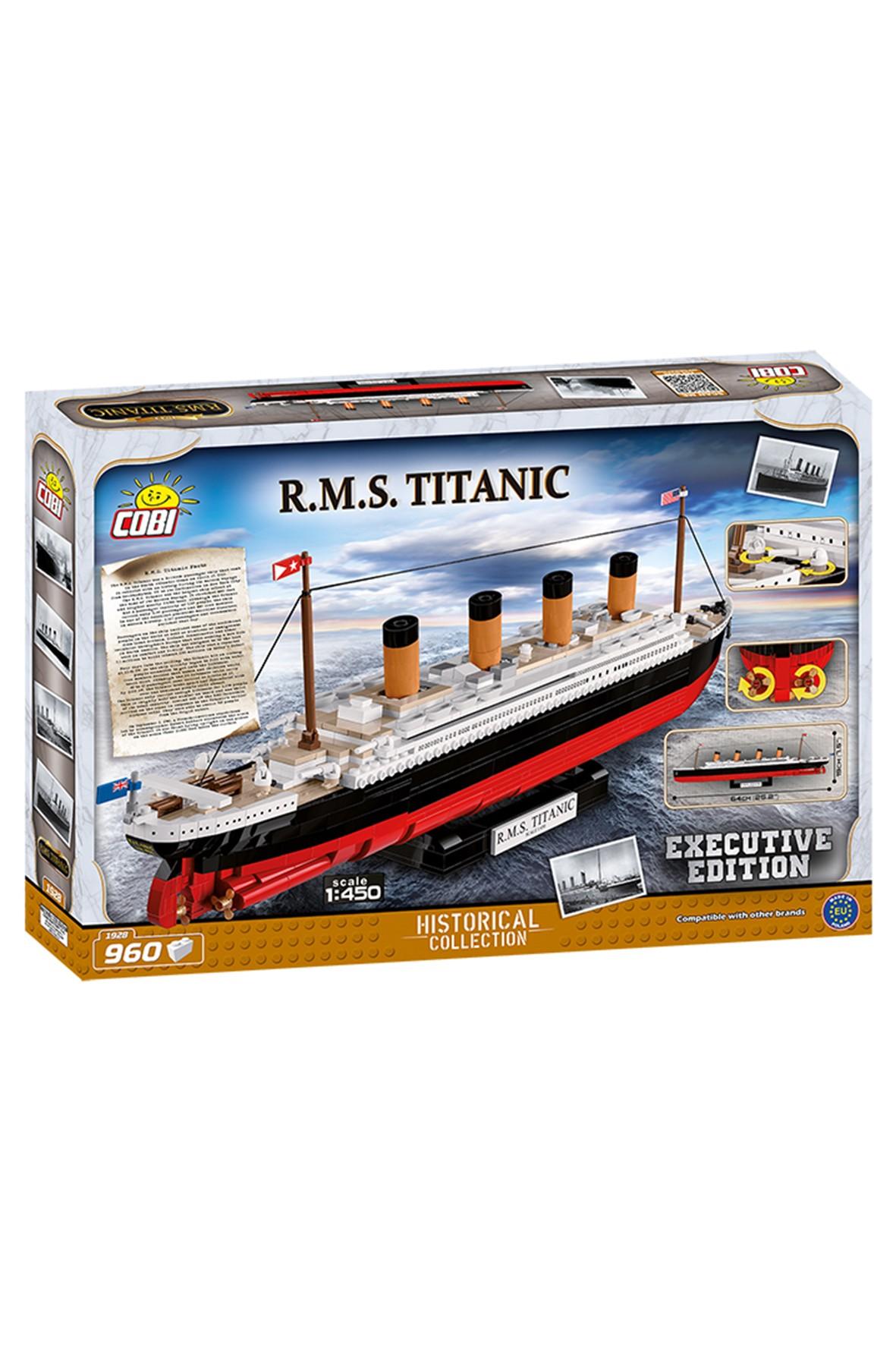 Klocki COBI 1928 RMS Titanic Executive Edition - 960 elementów wiek 8+