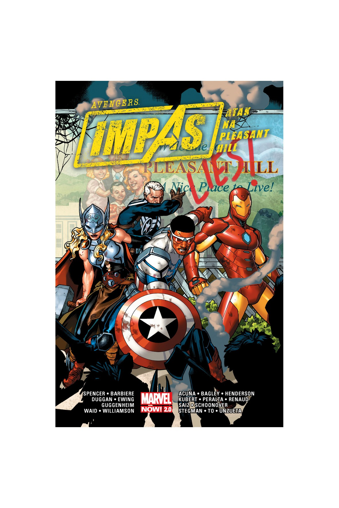 Avengers - Atak na Pleasant Hill MARVEL NOW 2.0