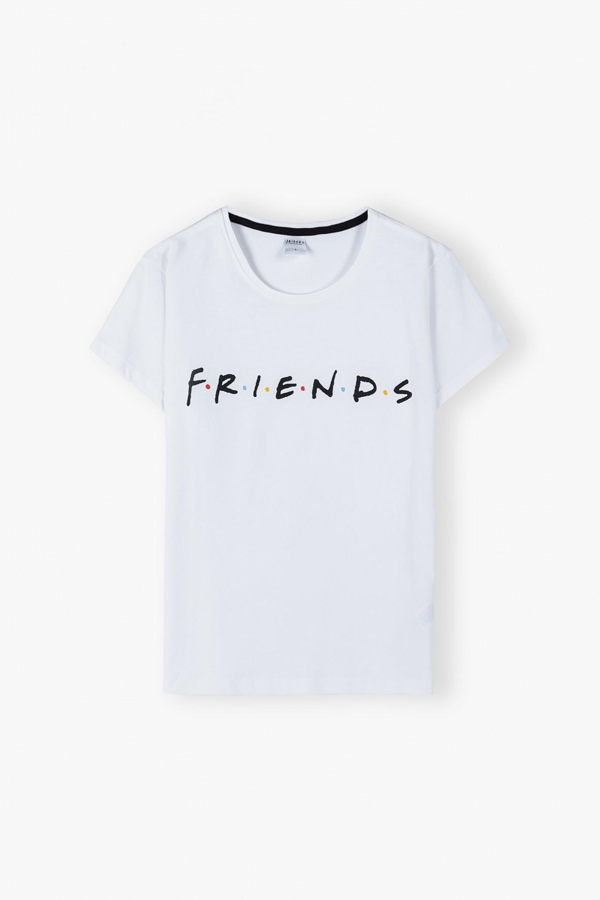 Bawełna t-shirt damski Friends - bały