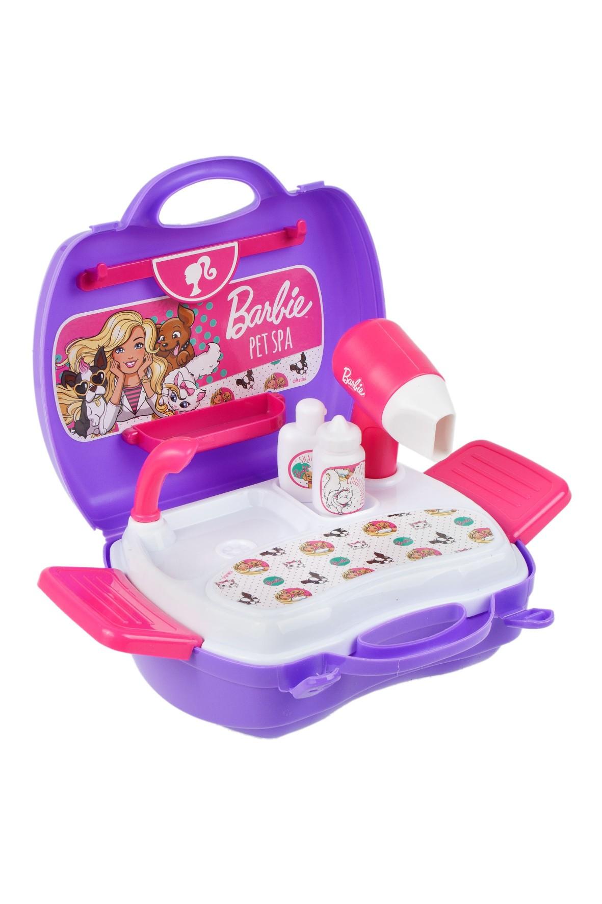 Barbie Zestaw SPA dla zwierząt walizka wiek3+