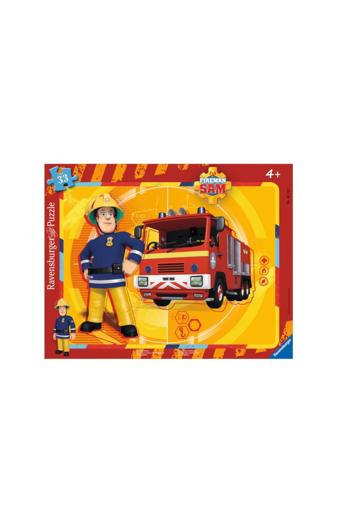 Puzzle dla chlopca Strażak Sam 33 elem