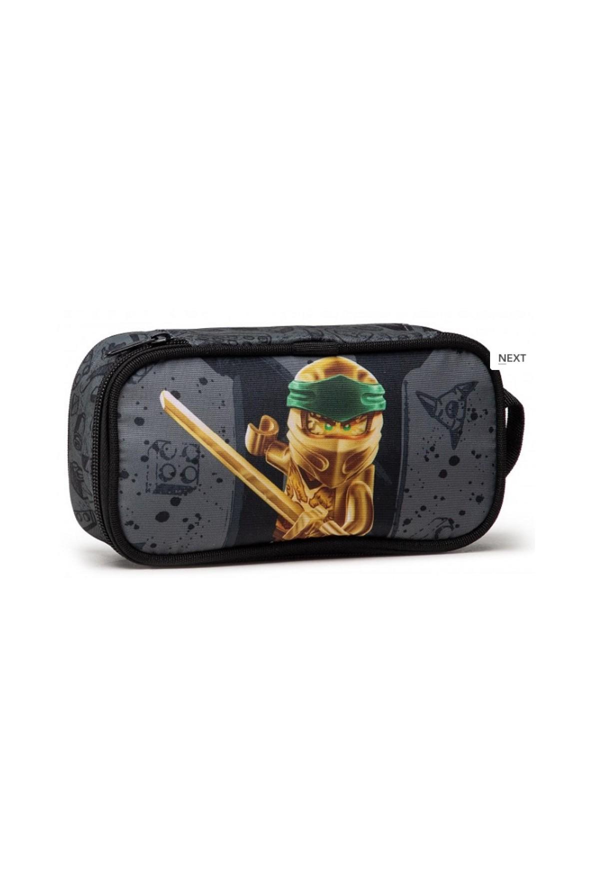 Piórnik chłopięcy  Ninjago Złoty Lloyd
