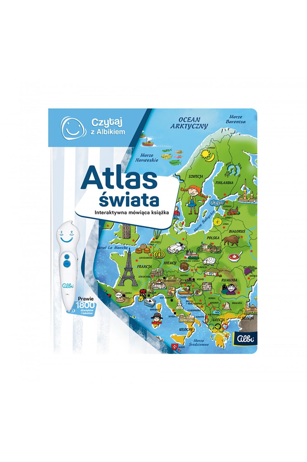 Książka Atlas świata