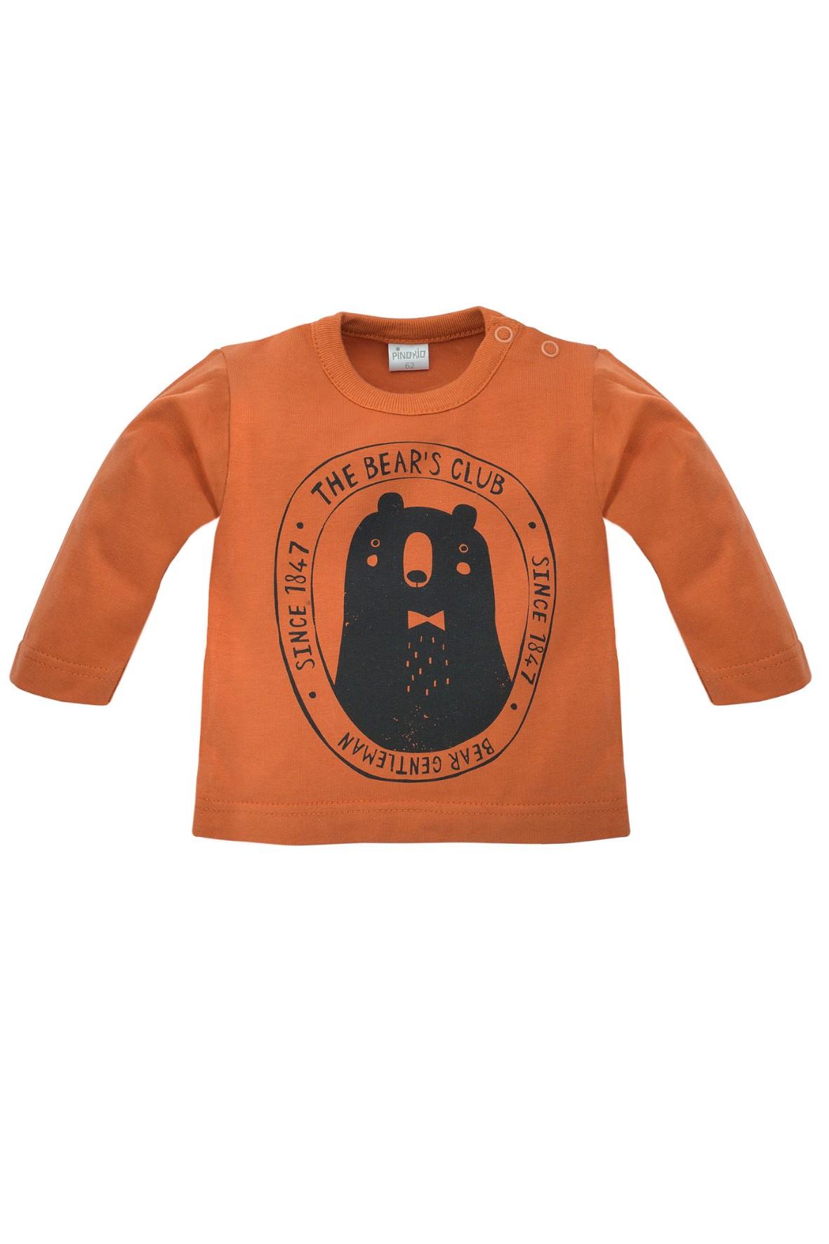 Bluzka niemowlęca z misiem Bears Club