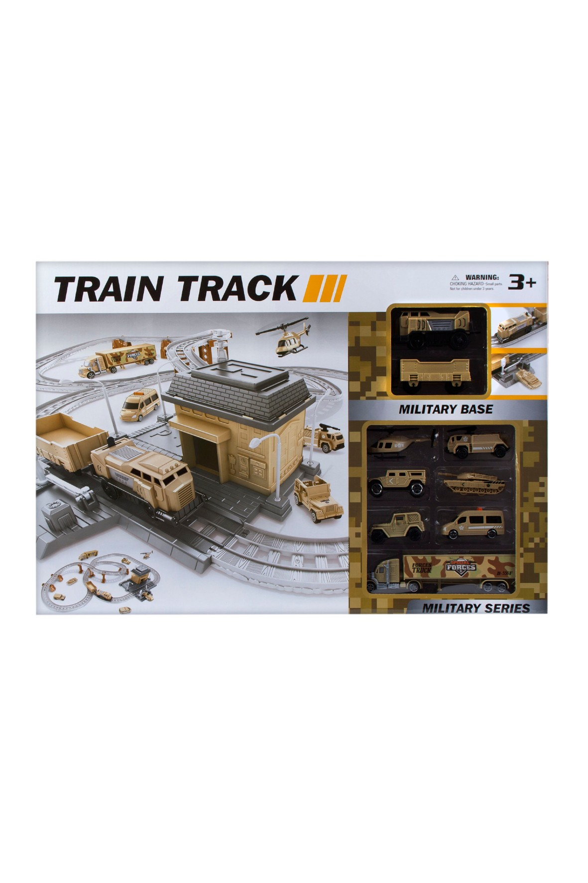 Stacja kolejowa wojsko Mega Creative 3+