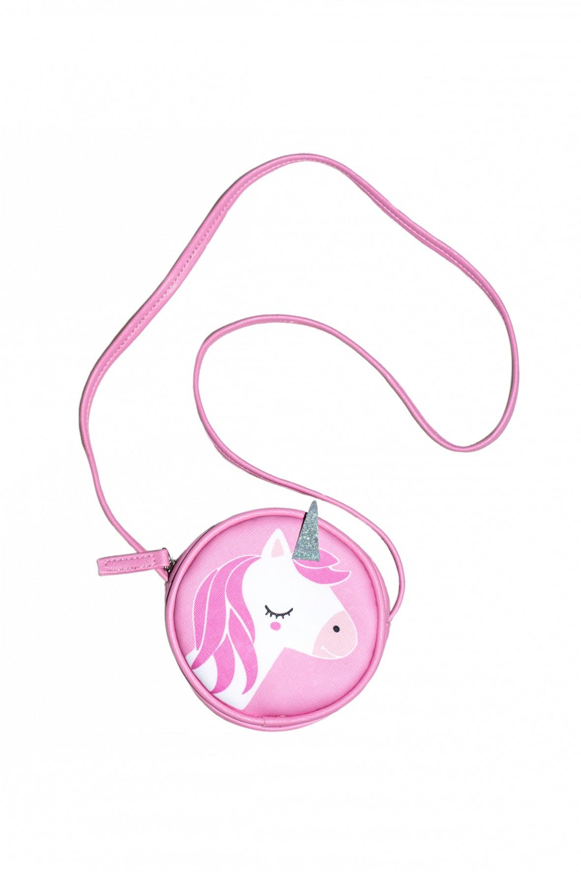 03f077e7e6e90 Różowa torebka dla dziewczynki z jednorożcem. Musisz mieć!