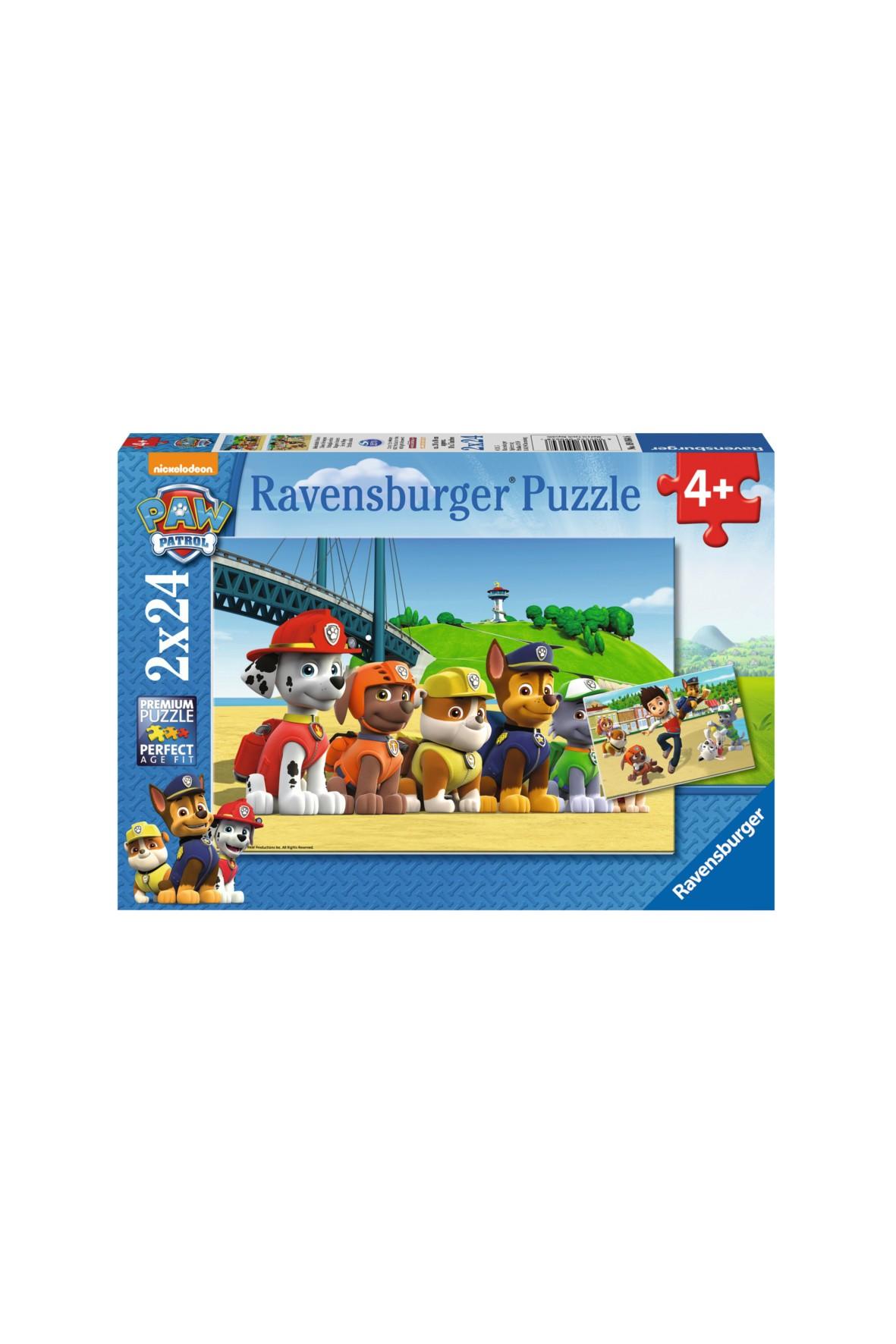 Puzzle Psi Patrol Bohaterskie Psy 2x24 elementy